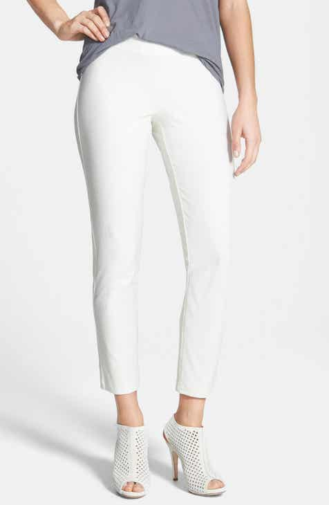 b987530bc35 Eileen Fisher Stretch Crepe Ankle Pants (Regular   Petite) (Online Only)