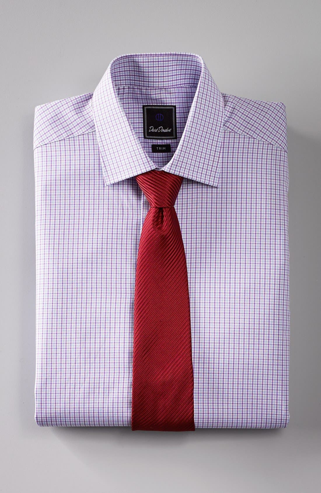 Alternate Image 3  - David Donahue Woven Silk Tie