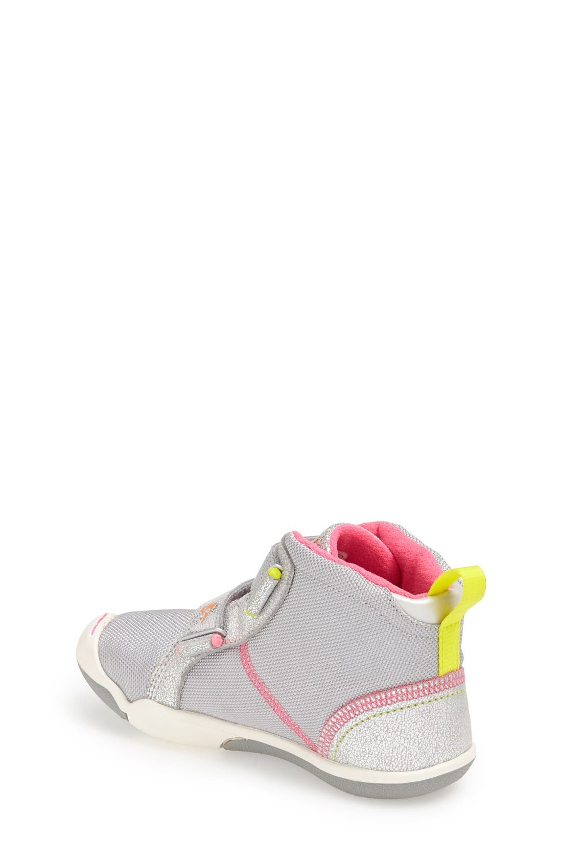 Alternate Image 2  - PLAE 'Max' Customizable High Top Sneaker (Toddler & Little Kid)