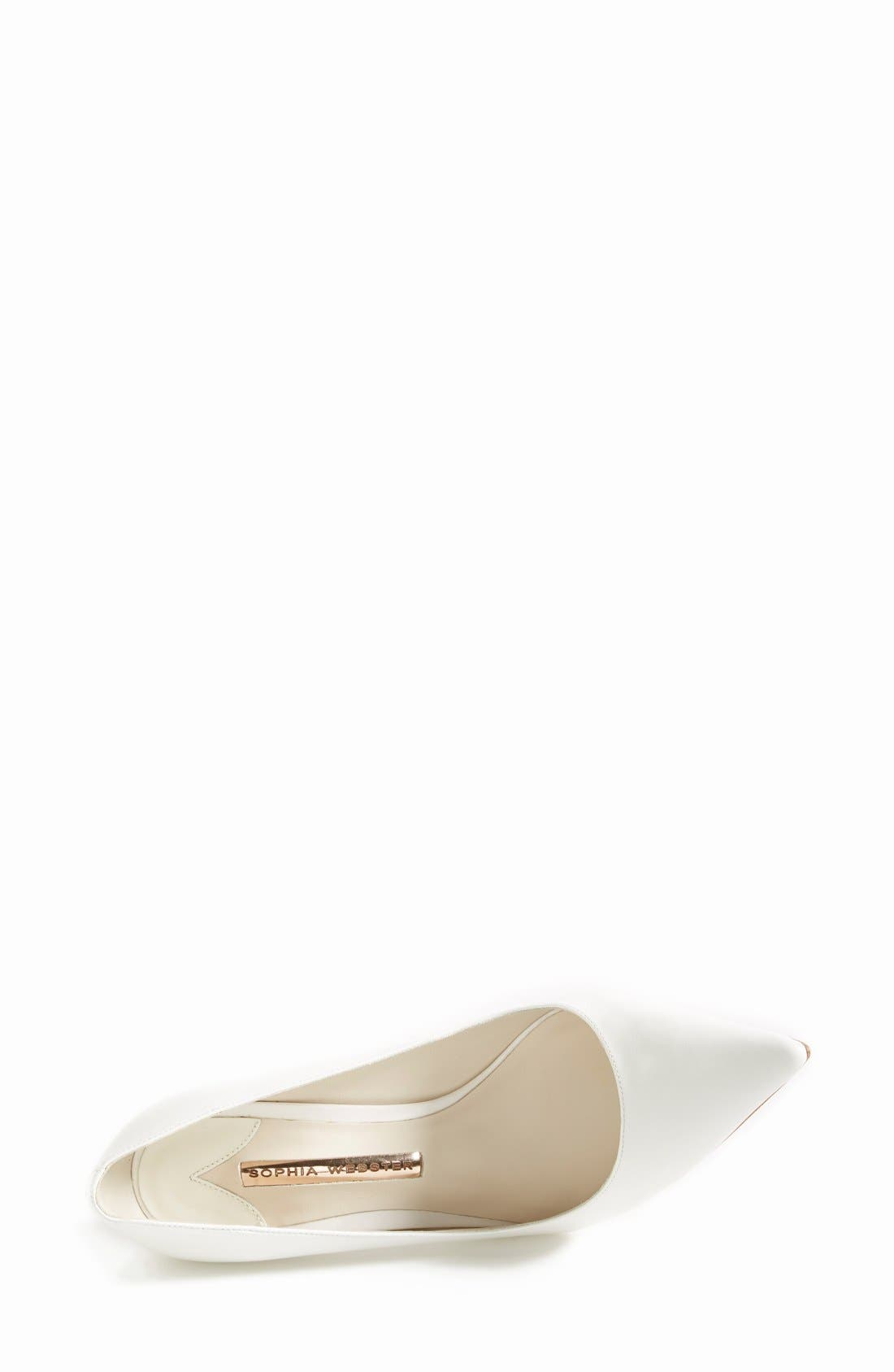 Alternate Image 3  - Sophia Webster Crystal Heel Pump (Women)