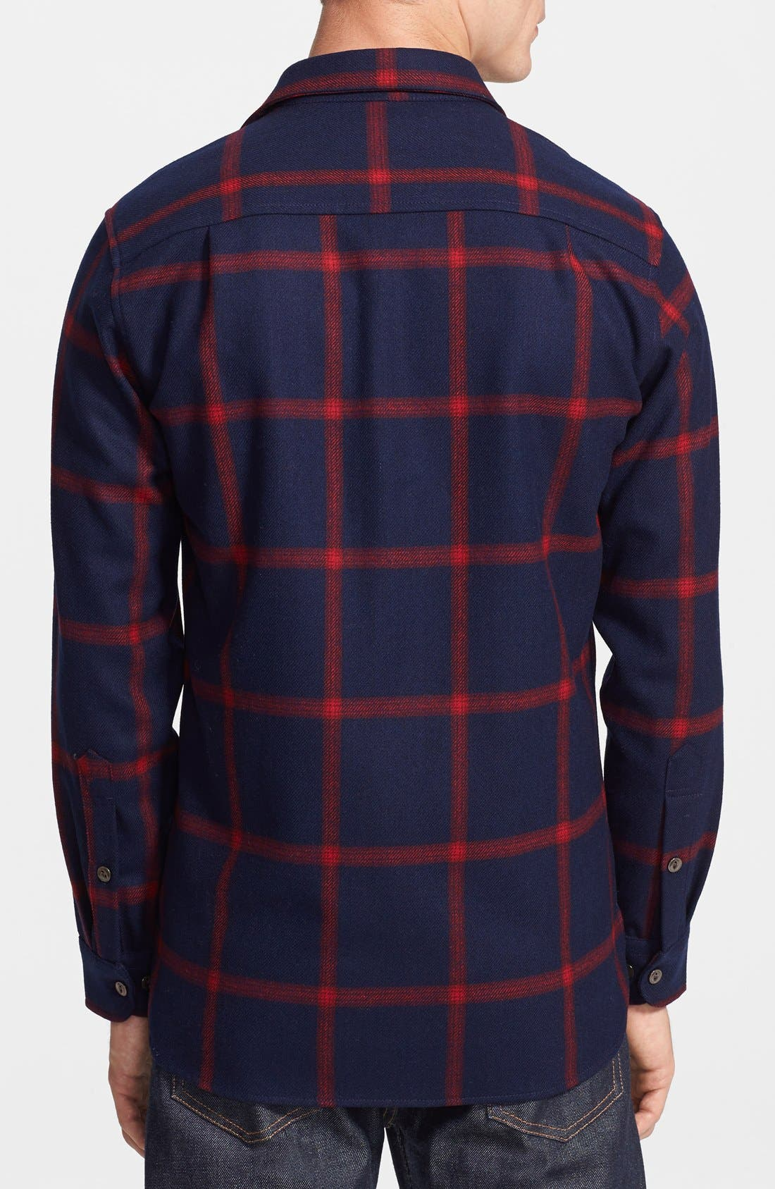 Alternate Image 2  - Pendleton Thomas Kay Collection 'Oliver' Check Wool Flannel Shirt