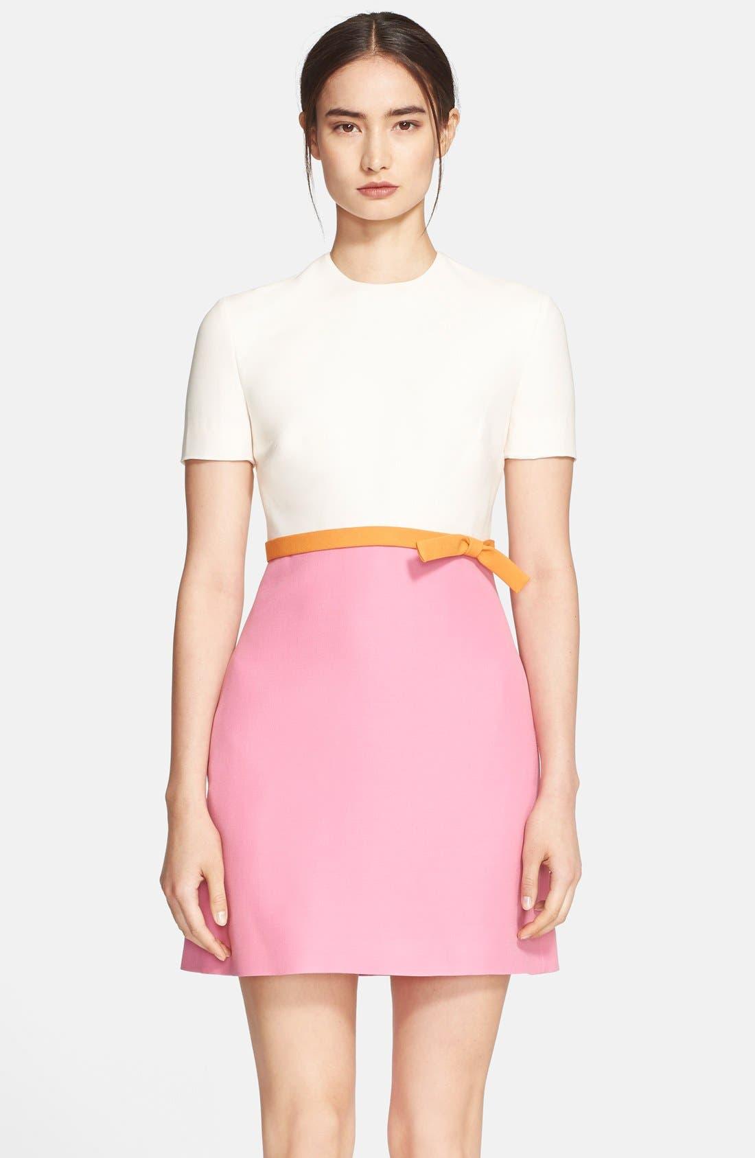 Alternate Image 3  - Valentino Tricolor Crepe Dress