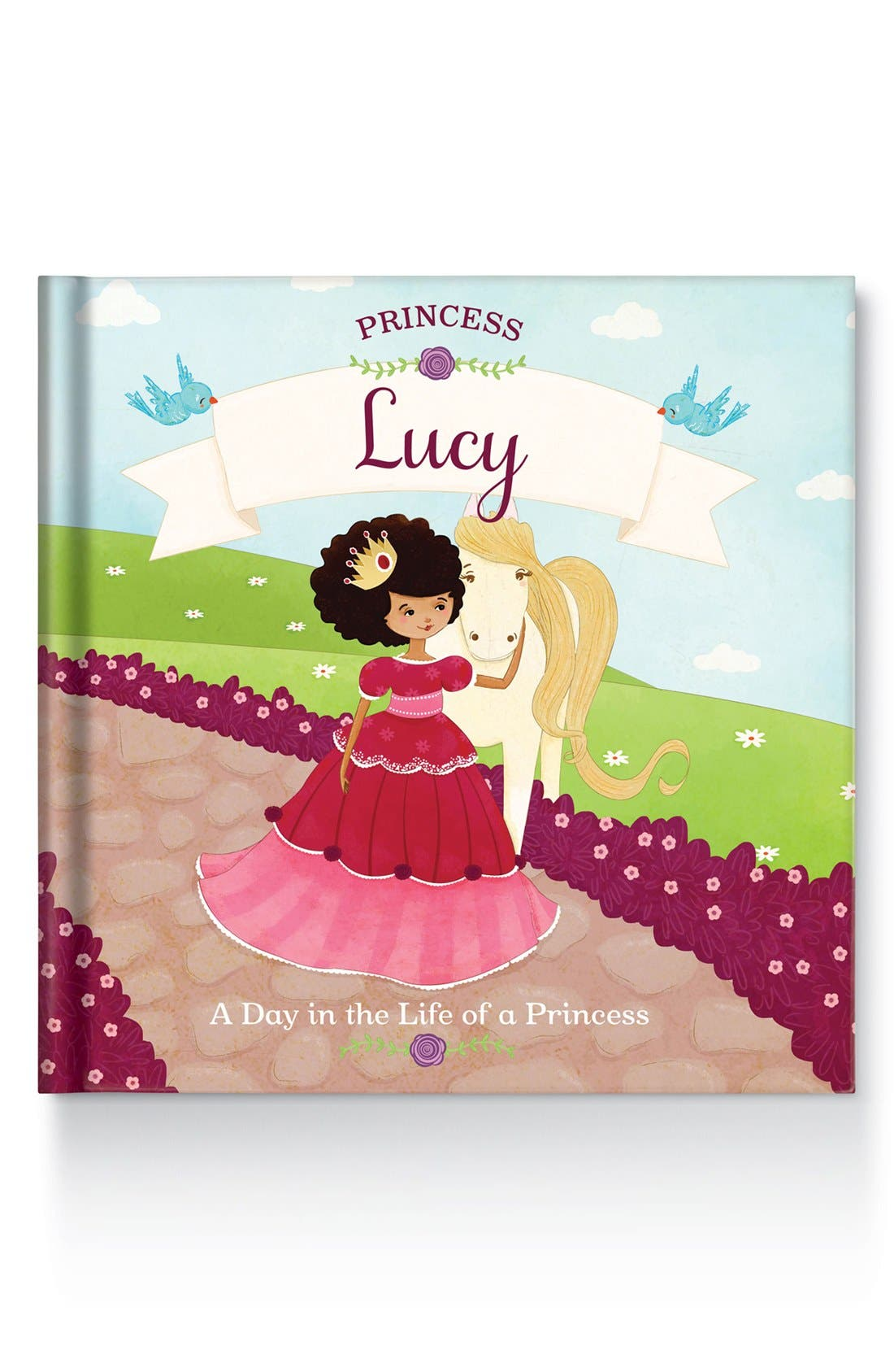 Alternate Image 1 Selected - 'Princess' Personalized Book