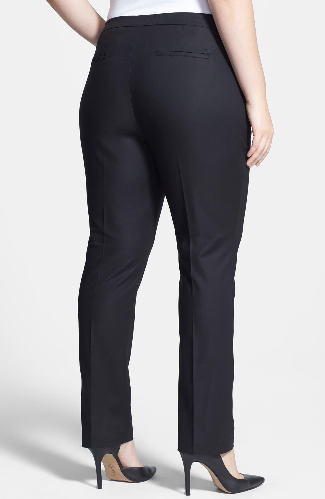 'The Perfect' Pants,                             Alternate thumbnail 2, color,                             Black Onyx
