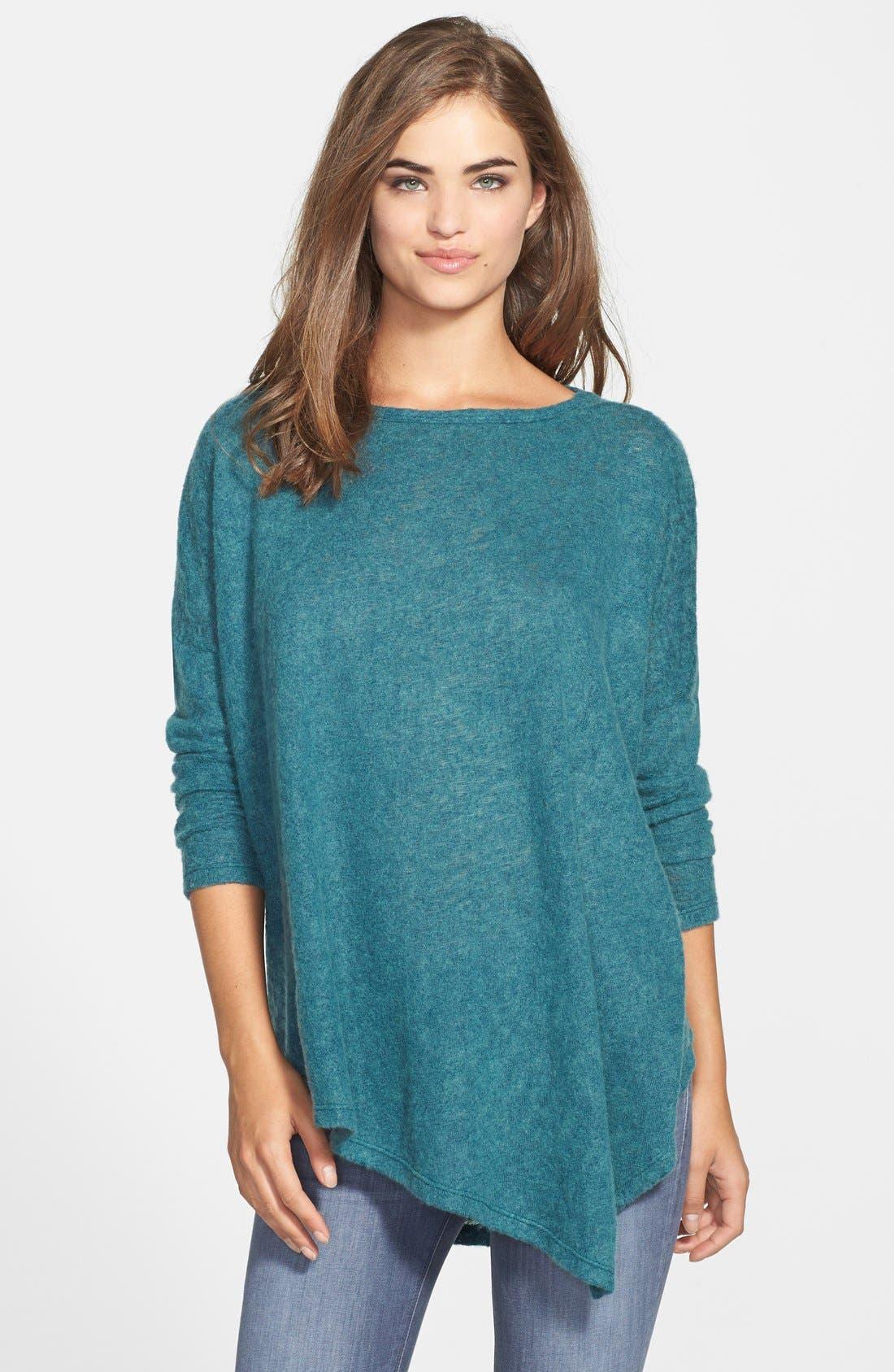 Alternate Image 1 Selected - Bobeau Asymmetrical Sweater