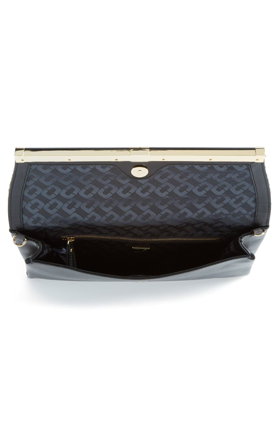 Alternate Image 3  - Diane von Furstenberg 'Large 440' Snakeskin Envelope Clutch