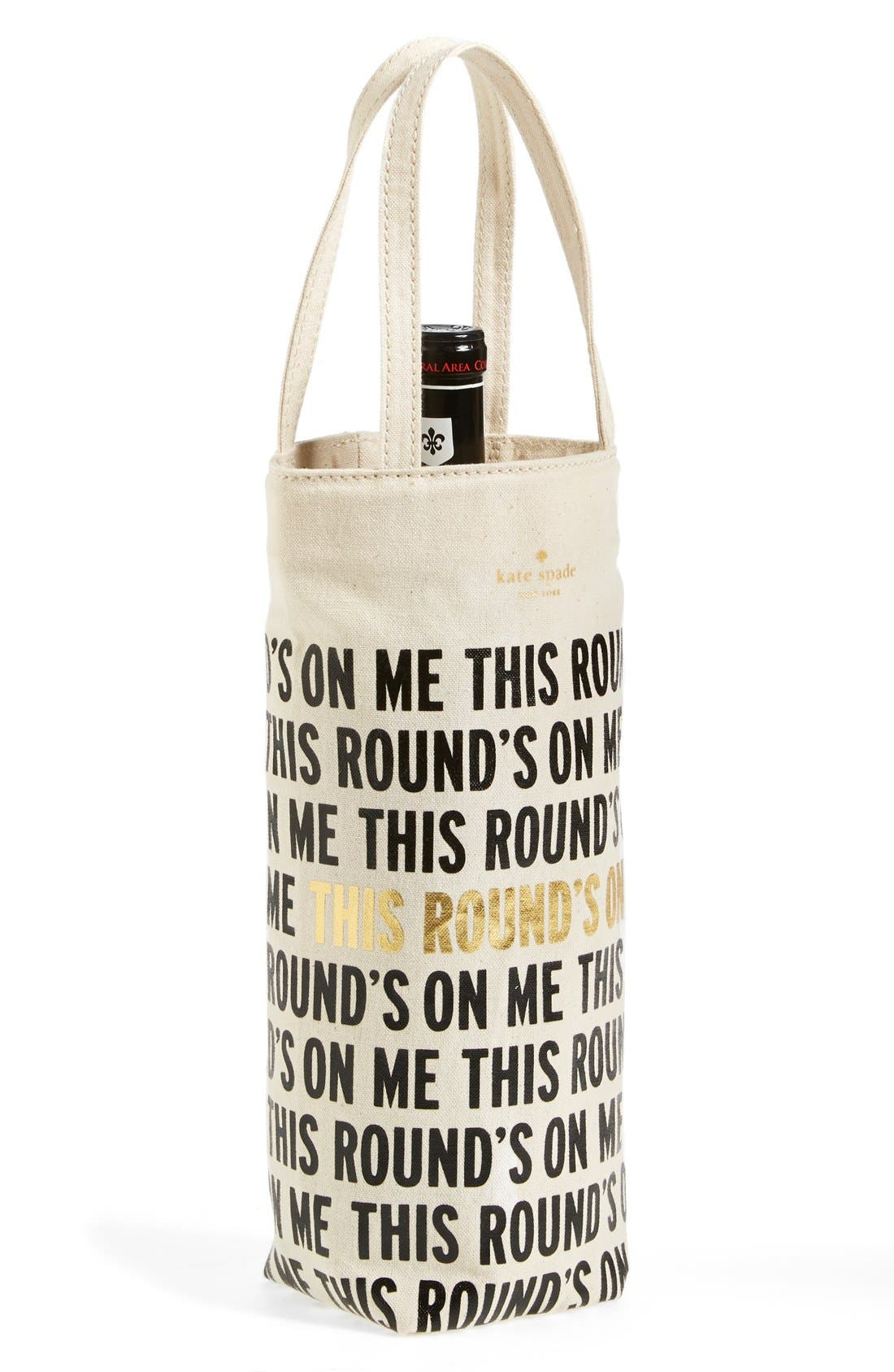Main Image - kate spade new york wine tote