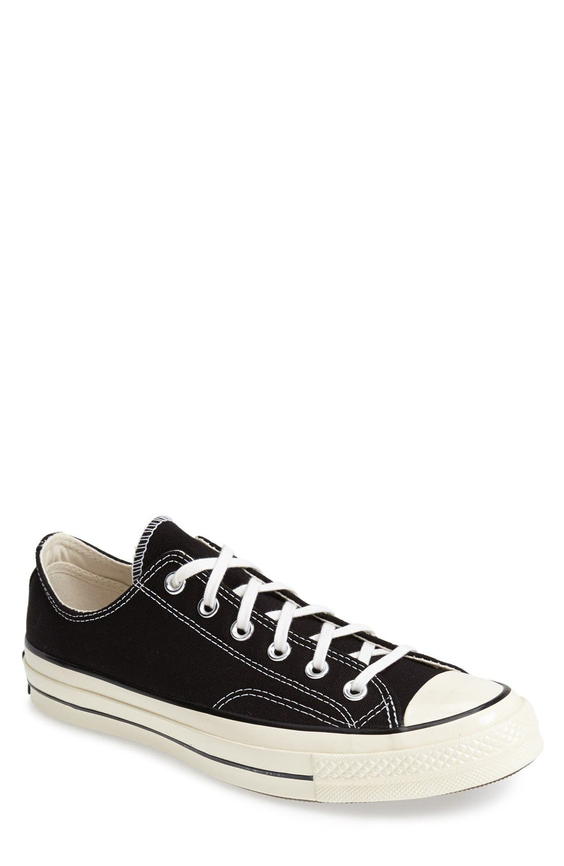 Chuck Taylor<sup>®</sup> All Star<sup>®</sup> '70 Low Sneaker,                             Main thumbnail 1, color,                             Black