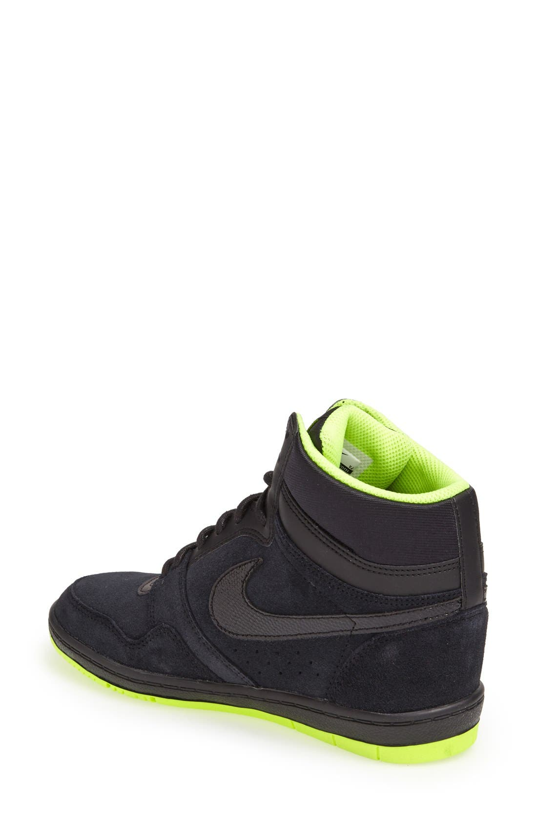 Alternate Image 2  - Nike 'Force Sky High' Sneaker (Women)