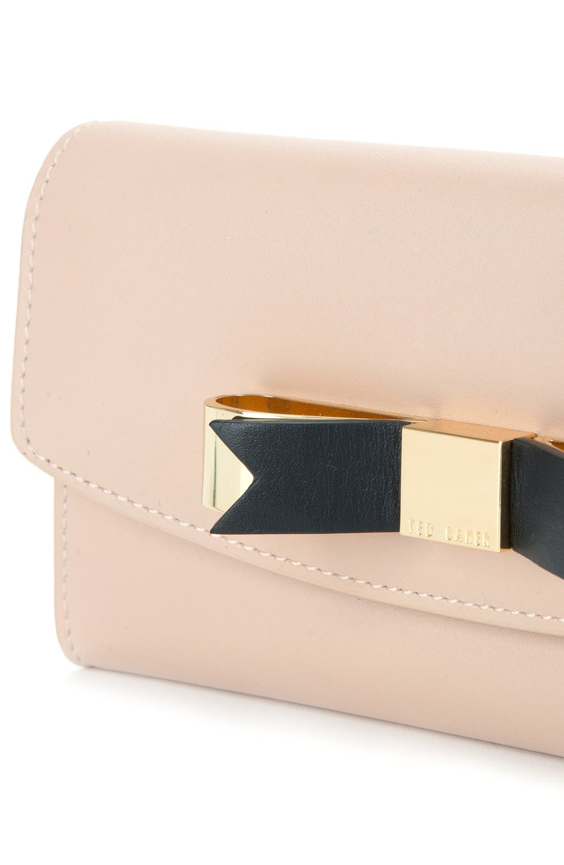 Alternate Image 3  - Ted Baker London Leather Bow Wallet