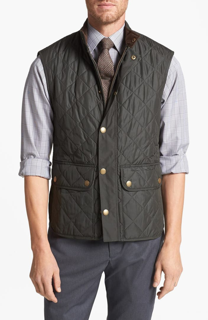 Barbour Lowerdale Trim Fit Quilted Vest Nordstrom