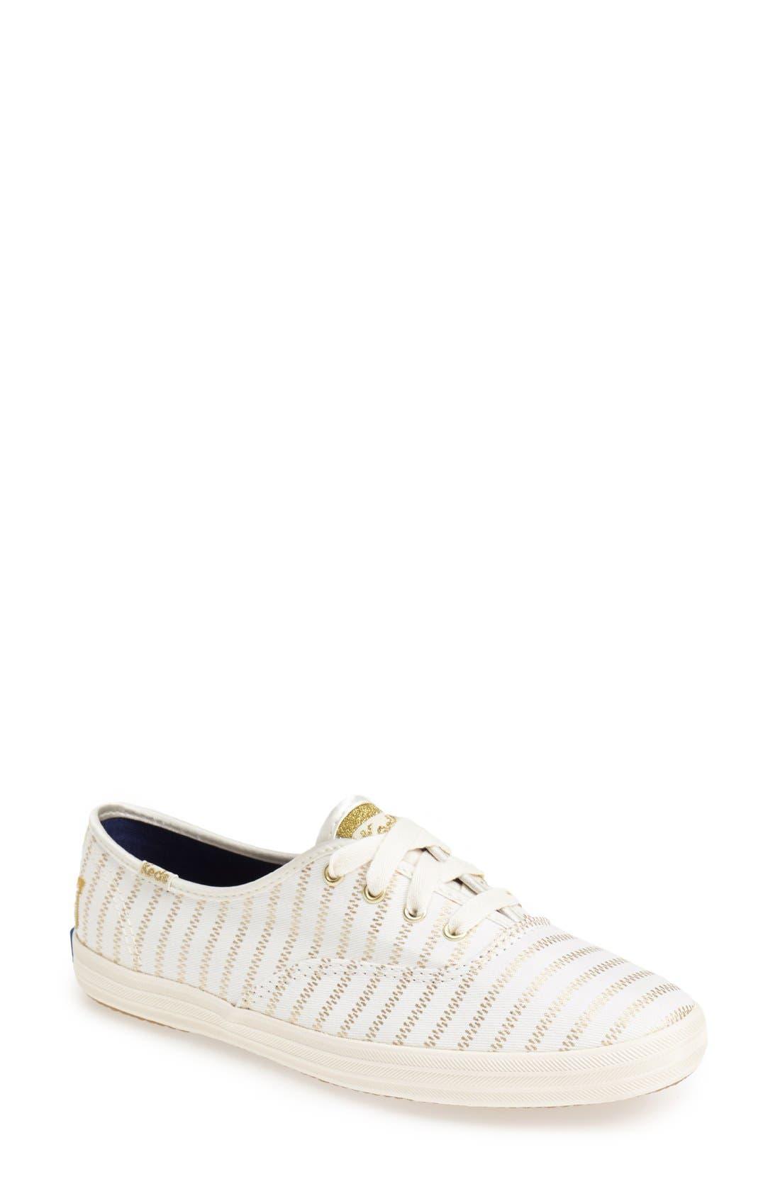 Alternate Image 1 Selected - Keds® 'Champion - Zip Zipper' Sneaker (Women)