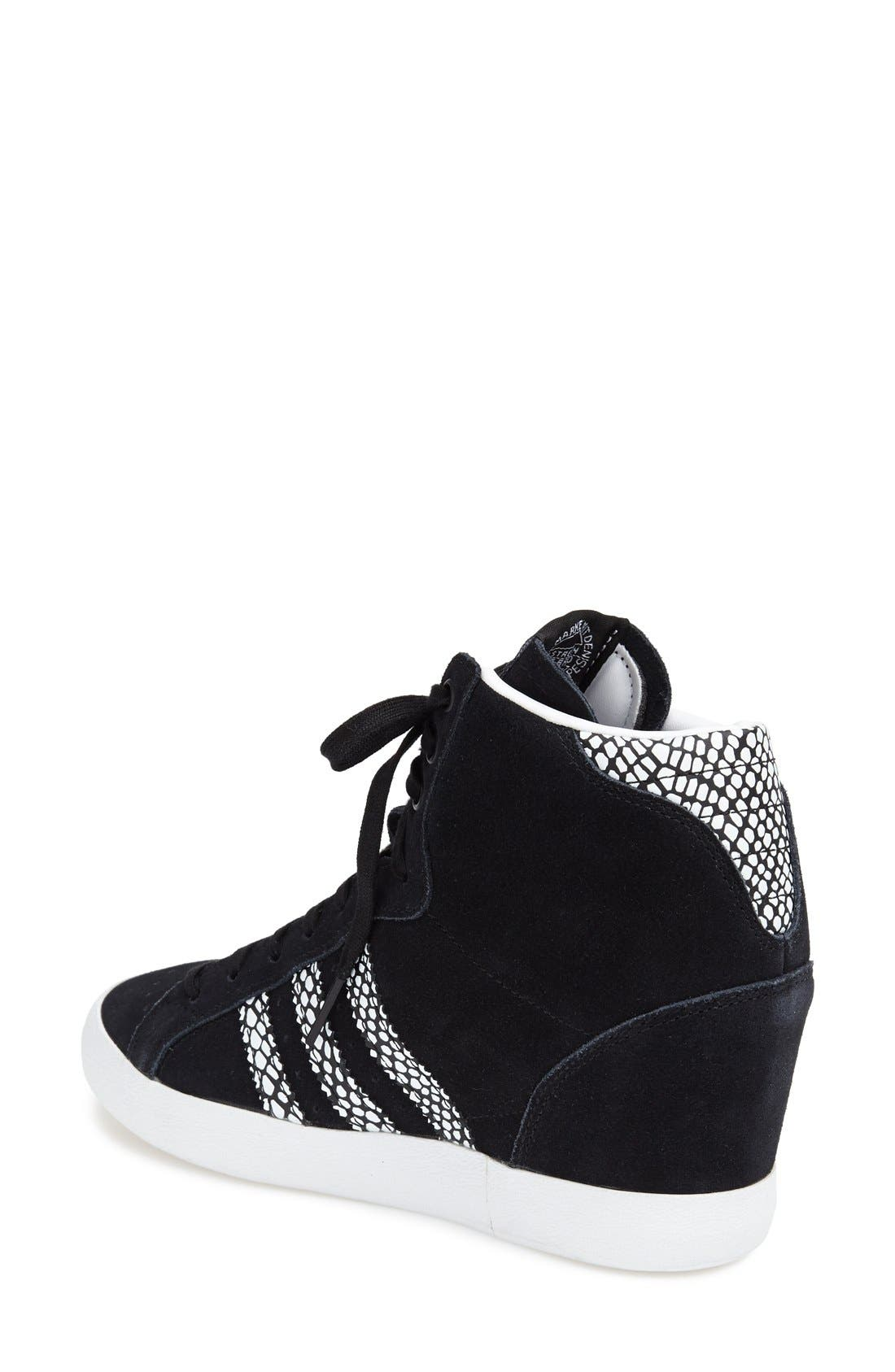 Alternate Image 2  - adidas Hidden Wedge Sneaker (Women)