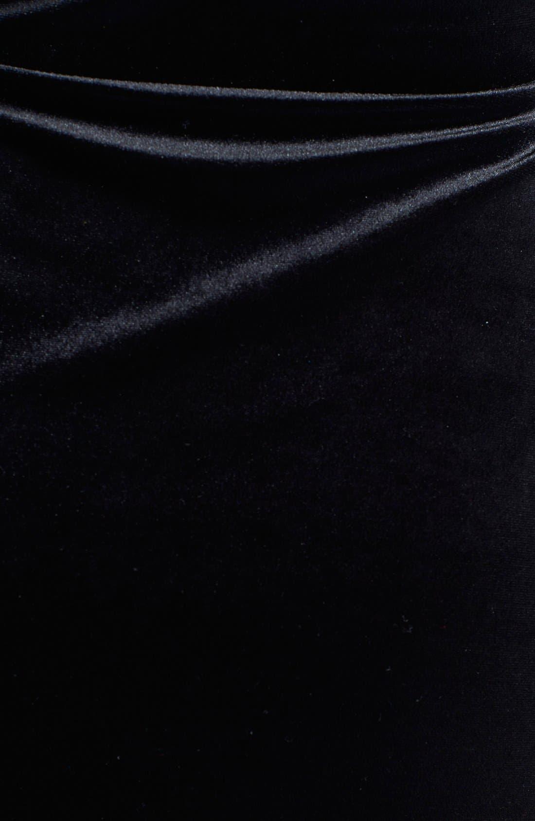 Alternate Image 3  - Anne Klein Velvet Wrap Dress