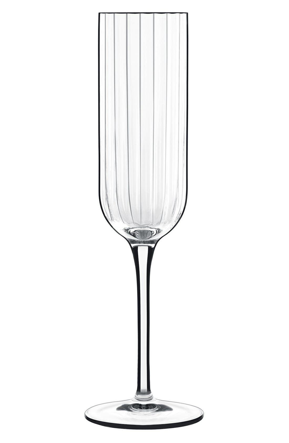 Alternate Image 1 Selected - Luigi Bormioli 'Bach' Champagne Flutes (Set of 4)