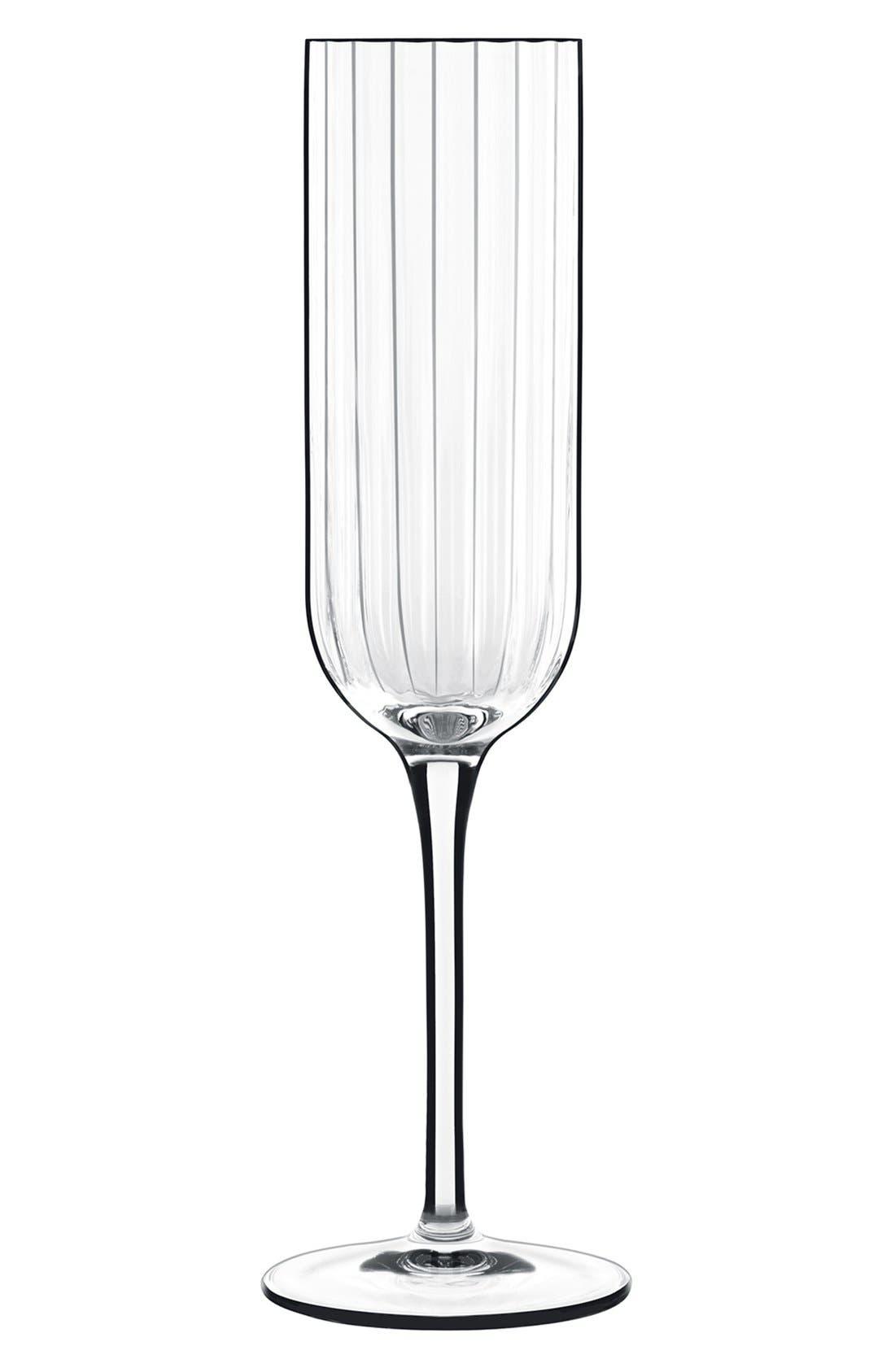 'Bach' Champagne Flutes,                             Main thumbnail 1, color,                             White