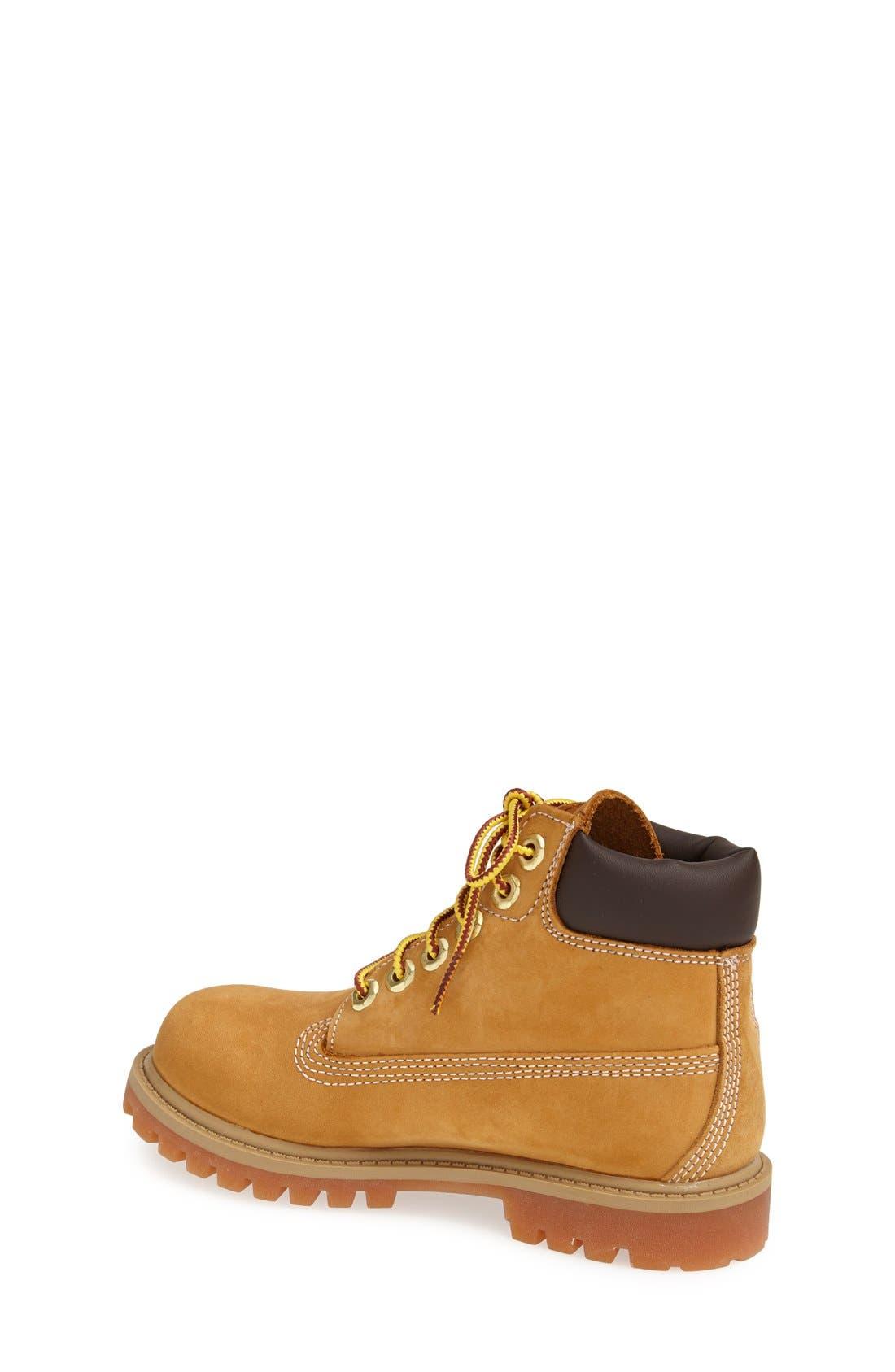 Alternate Image 2  - Timberland '6 Premium' Waterproof Leather Boot (Walker & Toddler)