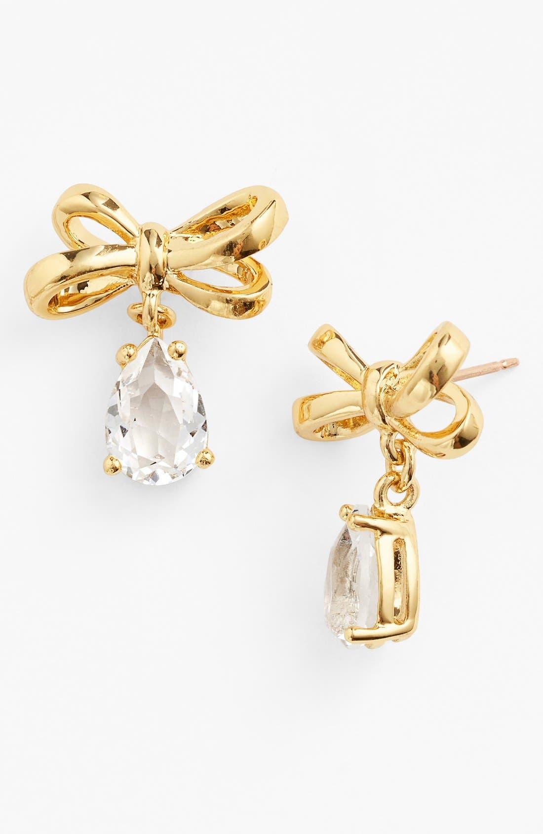 Main Image - kate spade new york 'tied up' drop earrings