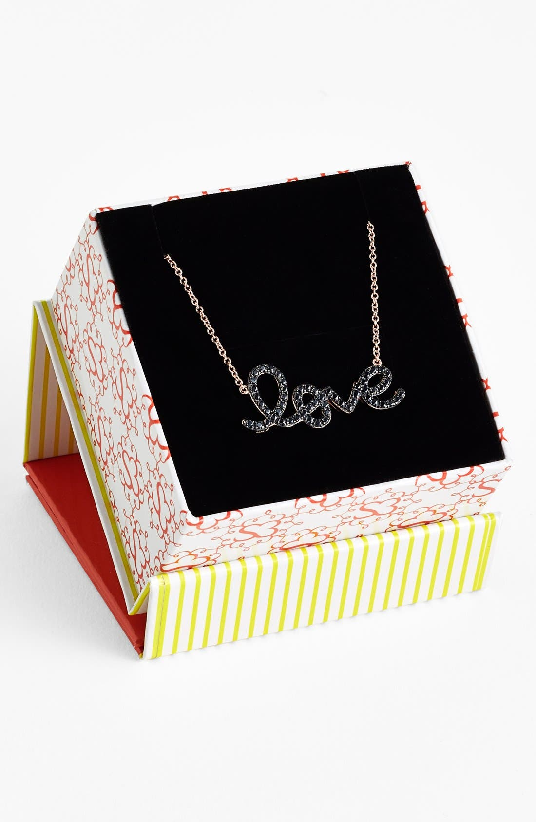 Alternate Image 3  - Sugar Bean Jewelry 'Love' Pendant Necklace
