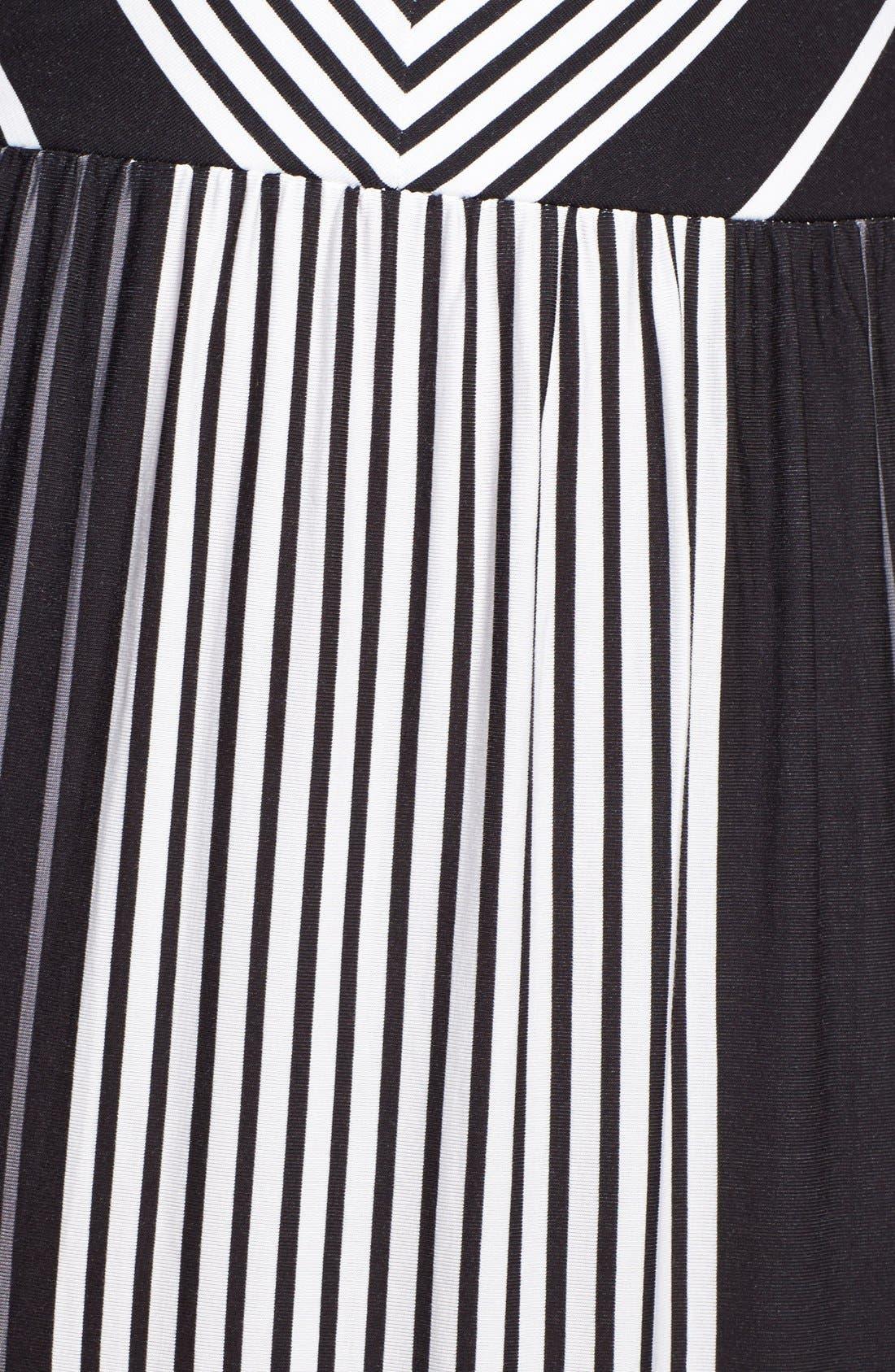 Alternate Image 3  - Felicity & Coco Stripe V-Neck Maxi Dress (Regular & Petite) (Nordstrom Exclusive)