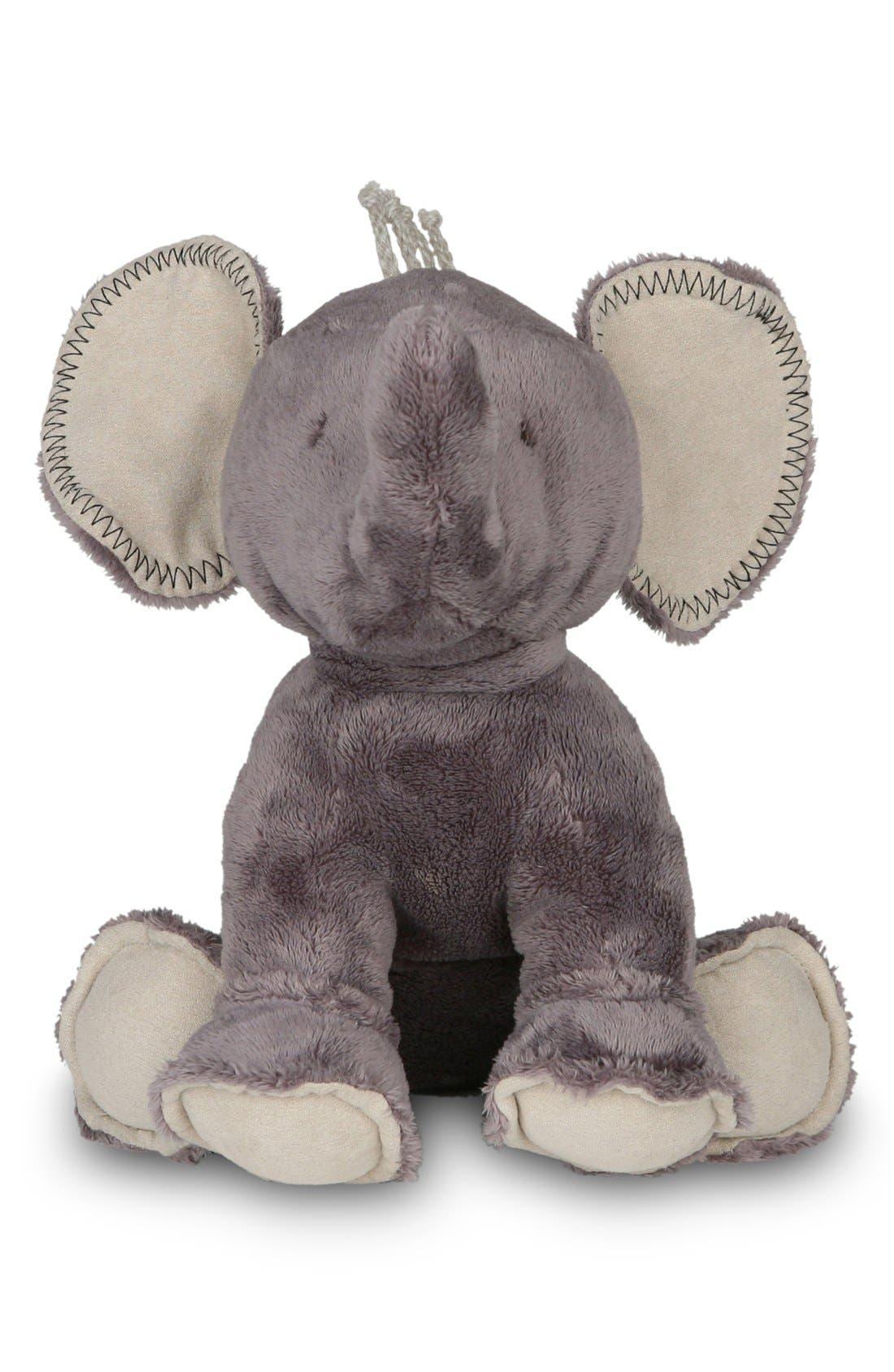 'Buddy the Elephant' Stuffed Animal,                             Main thumbnail 1, color,                             Warm Gray