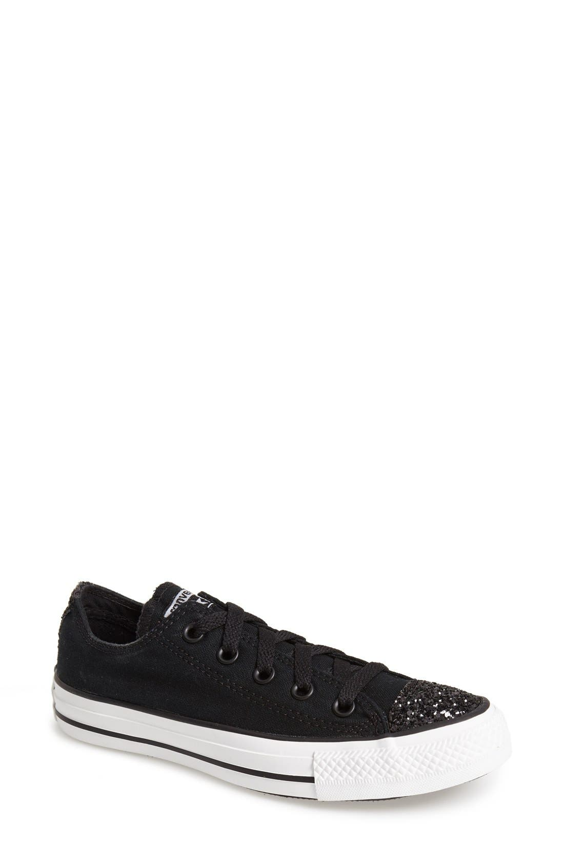 Alternate Image 1 Selected - Converse Chuck Taylor® All Star® 'Sparkle Ox' Low Top Sneaker (Women)