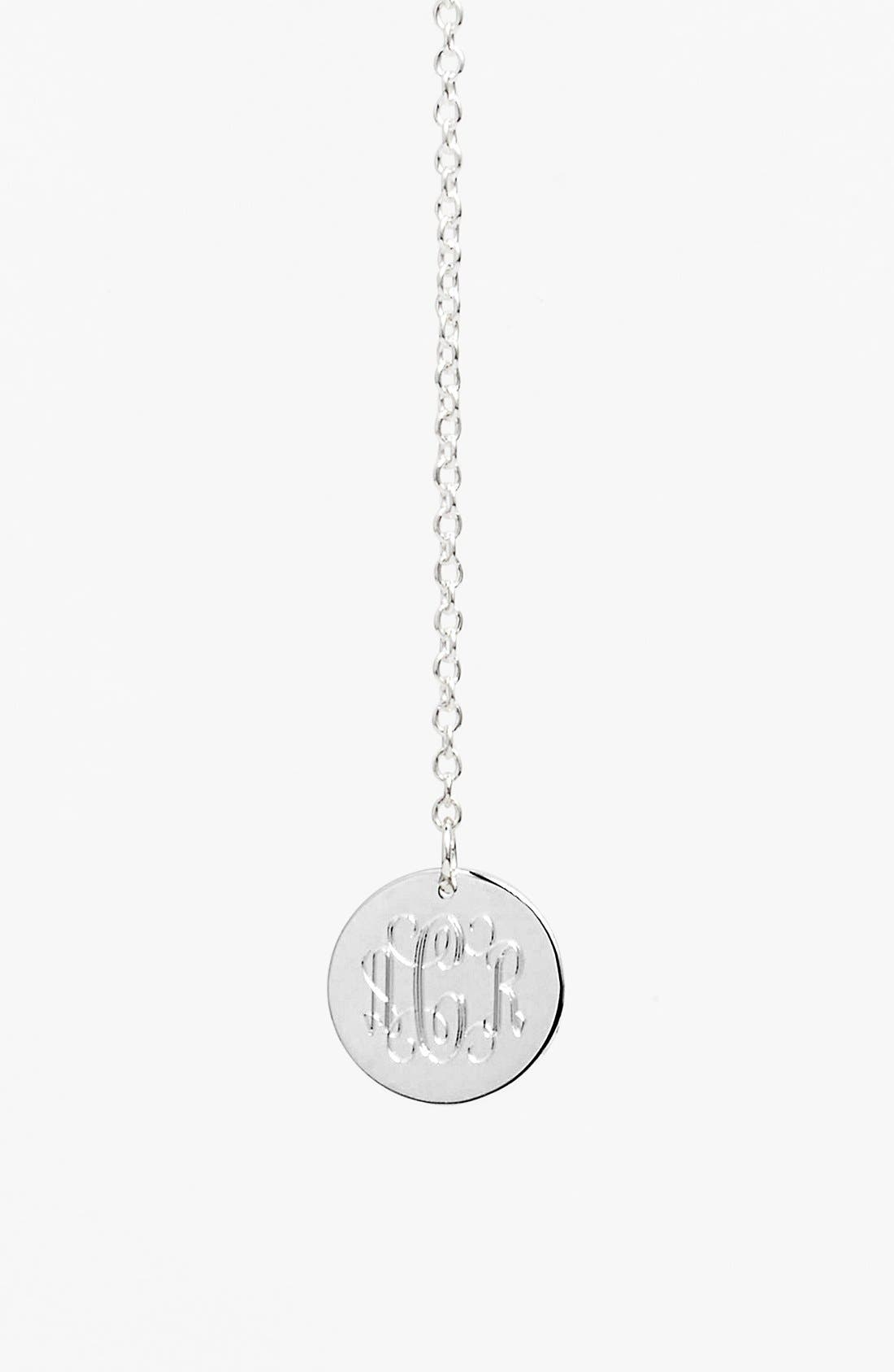 Personalized Y-Necklace,                             Alternate thumbnail 2, color,                             Silver
