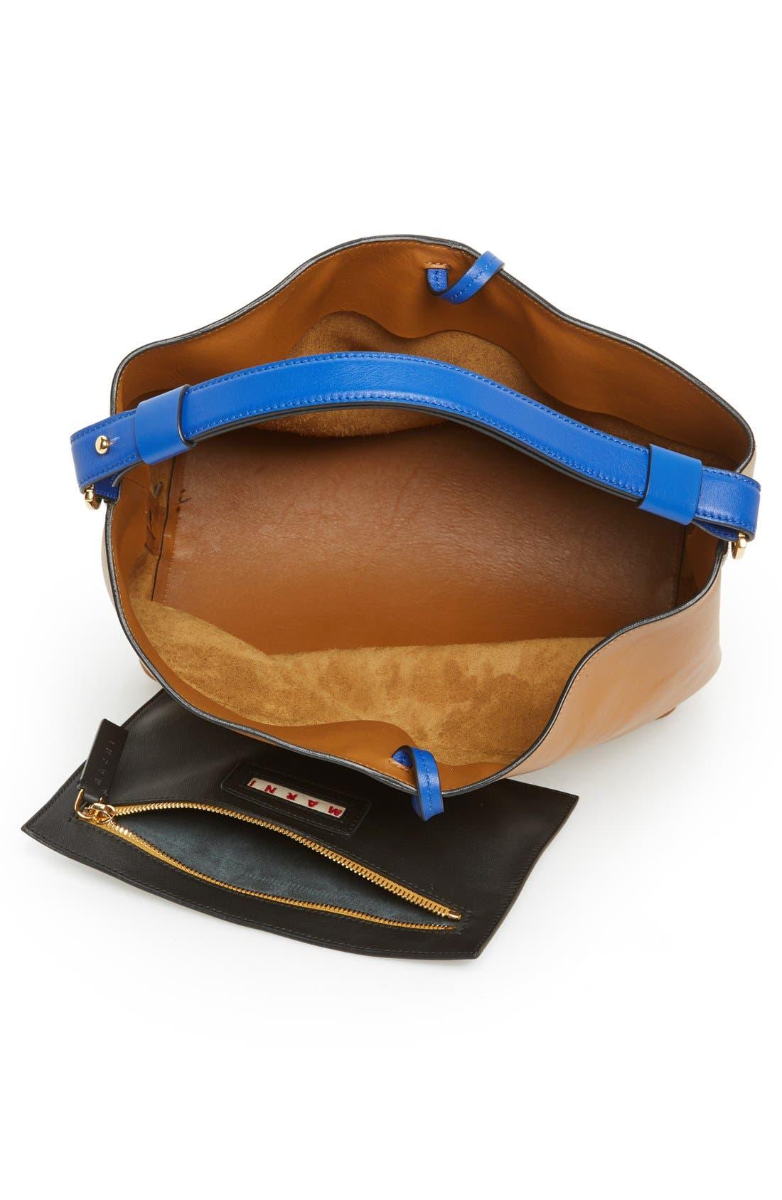 Alternate Image 3  - Marni Tasseled Leather Shoulder Bag