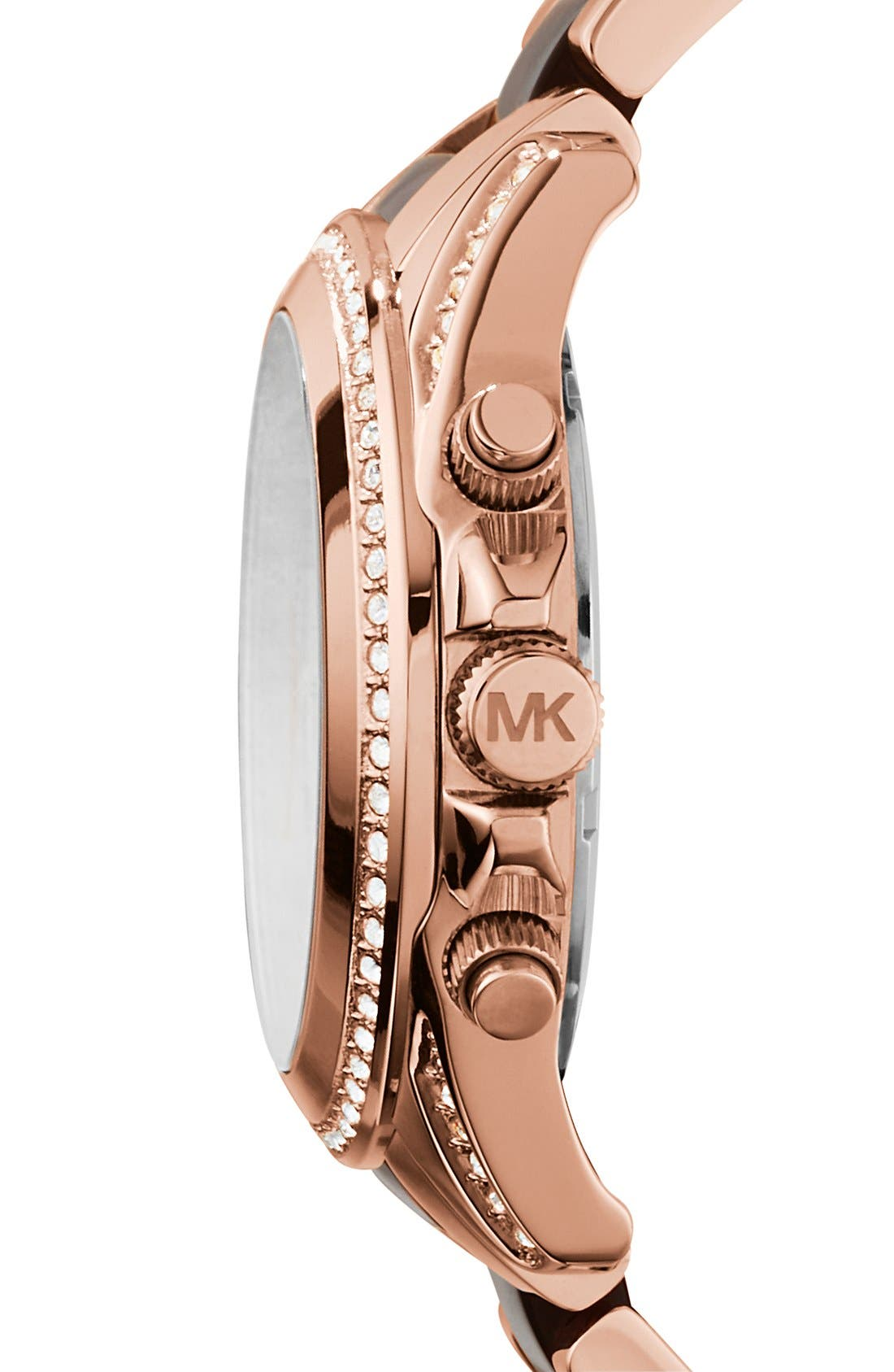 Alternate Image 3  - Michael Kors 'Blair' Two-Tone Bracelet Watch, 39mm