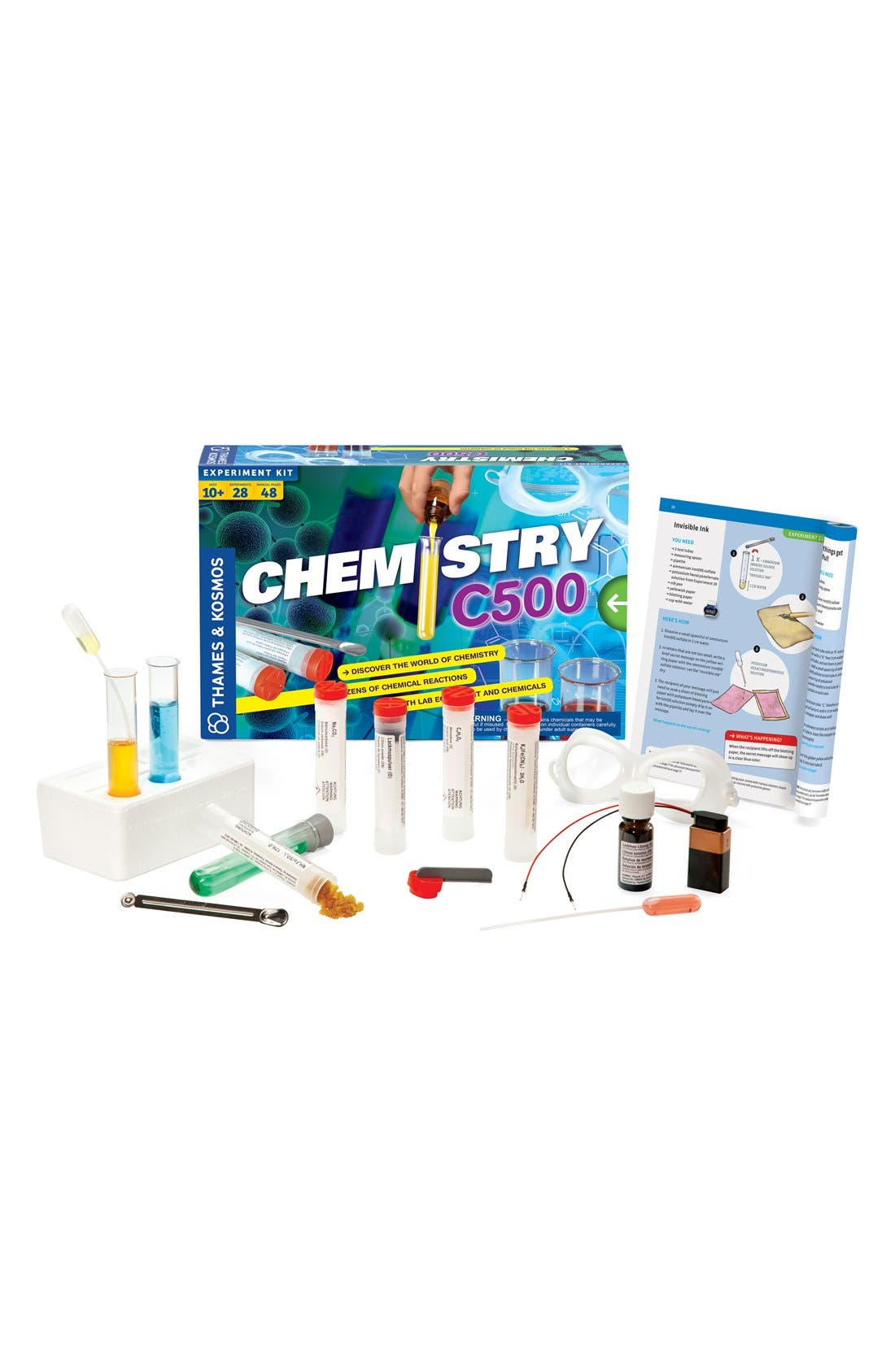 'Chemistry C500 2.0' Experiment Kit,                         Main,                         color, None