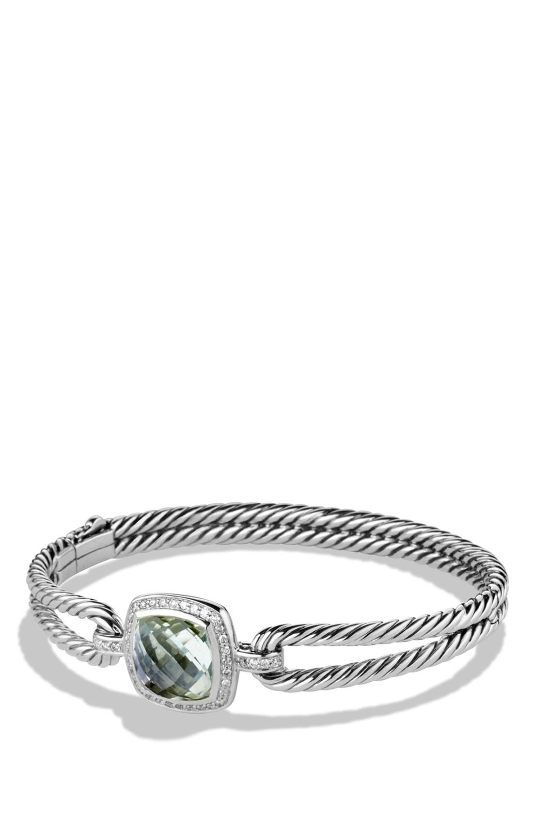 David Yurman 'Albion' Bracelet with Semiprecious Stone and Diamonds