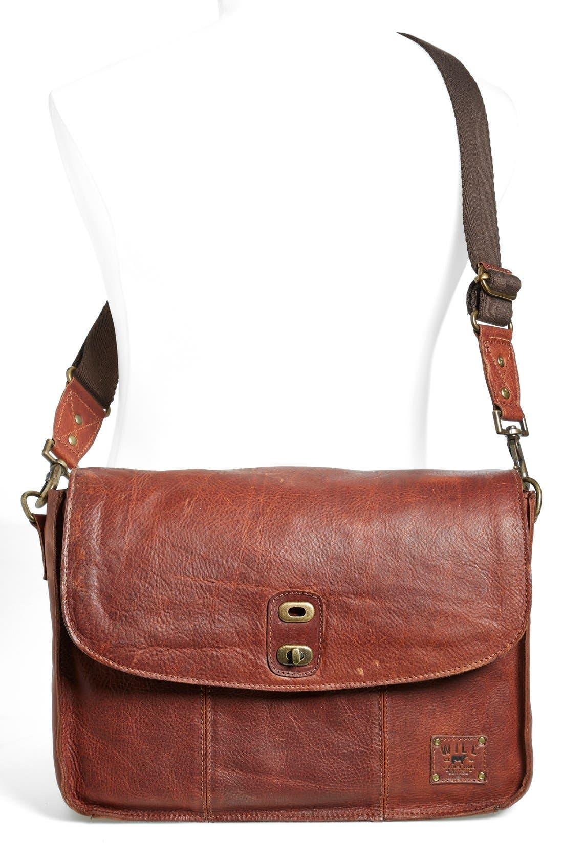 Alternate Image 2  - Will Leather Goods 'Kent' Messenger Bag