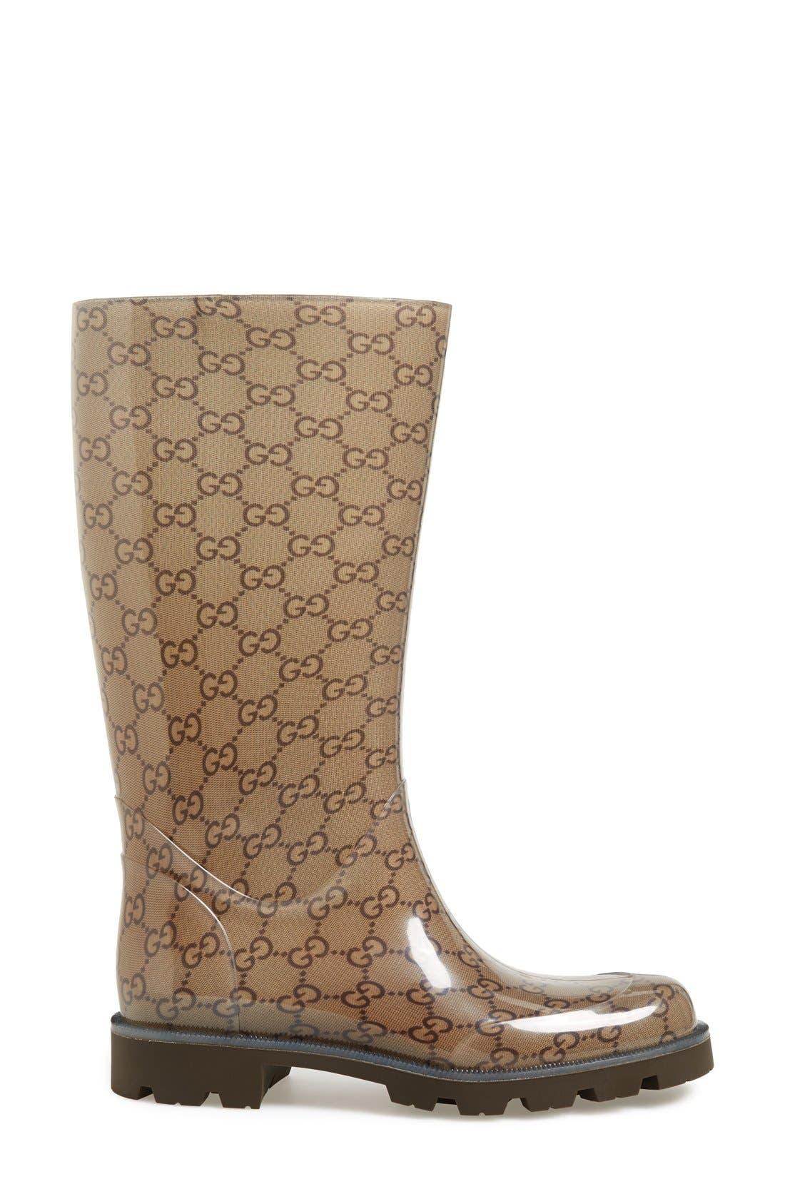 Alternate Image 4  - Gucci 'Edimburg GG' Rain Boot