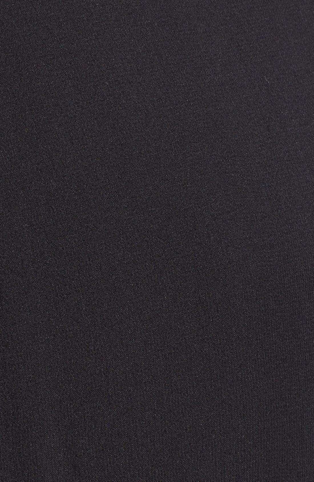 Alternate Image 3  - Burberry Brit 'Elenor' Pleat Mulberry Silk Dress