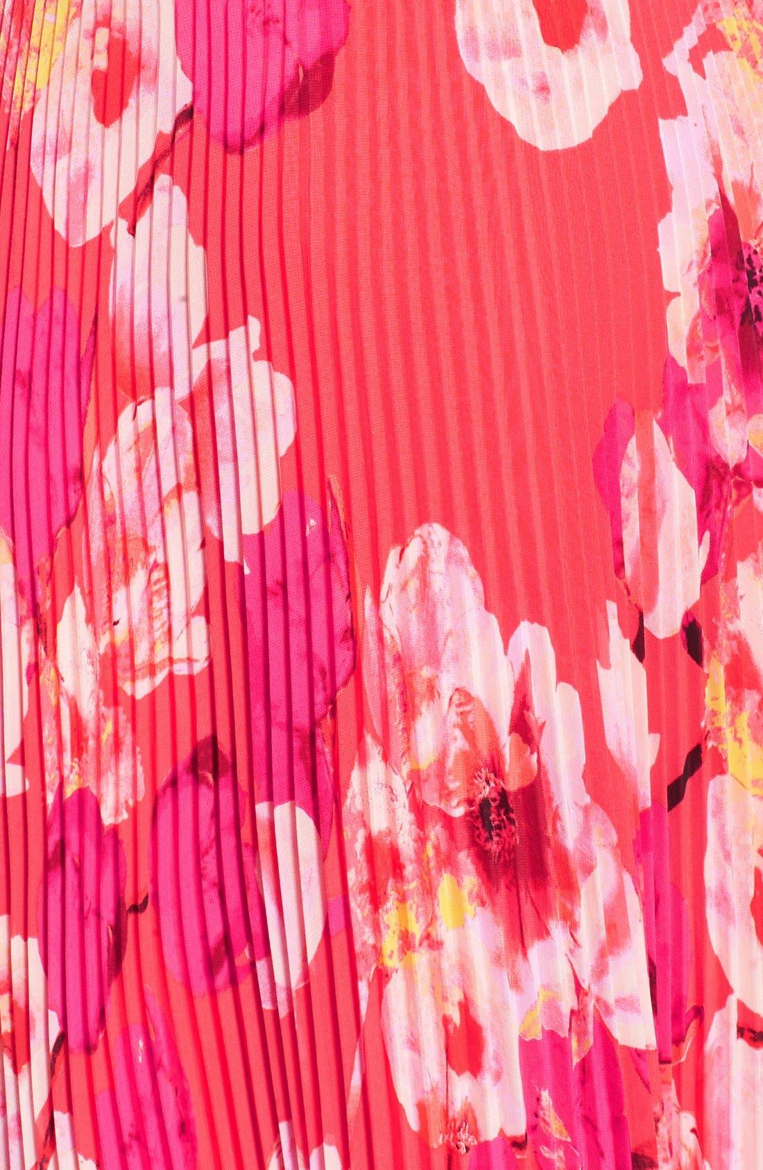 Alternate Image 3  - Eliza J Print Chiffon Maxi Dress