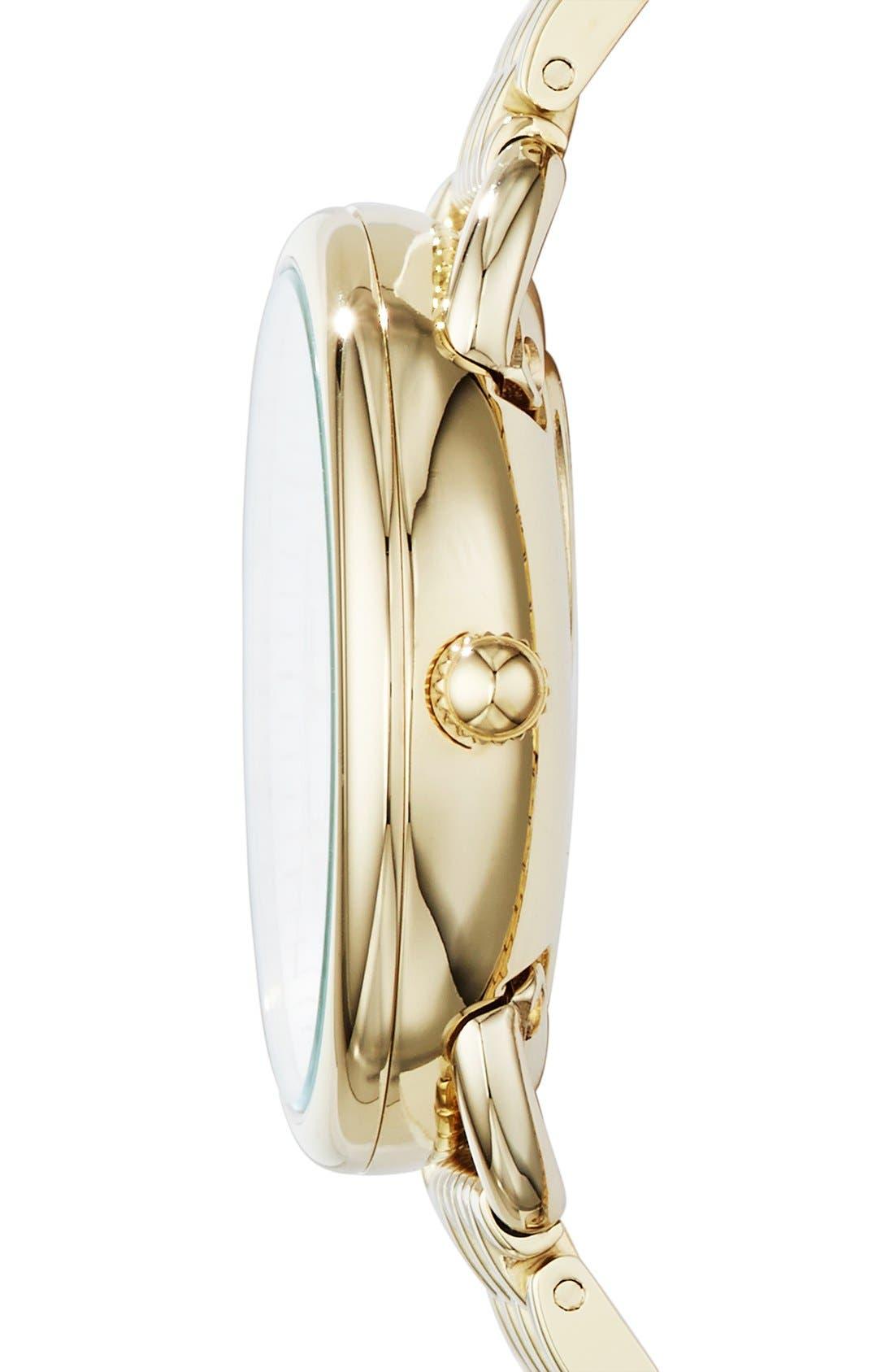Alternate Image 3  - Fossil 'Tailor' Multifunction Bracelet Watch, 16mm