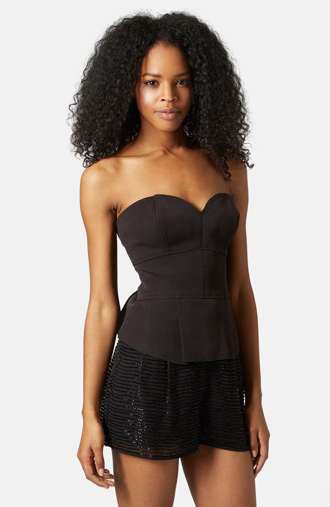 Main Image - Topshop Bonded Bustier