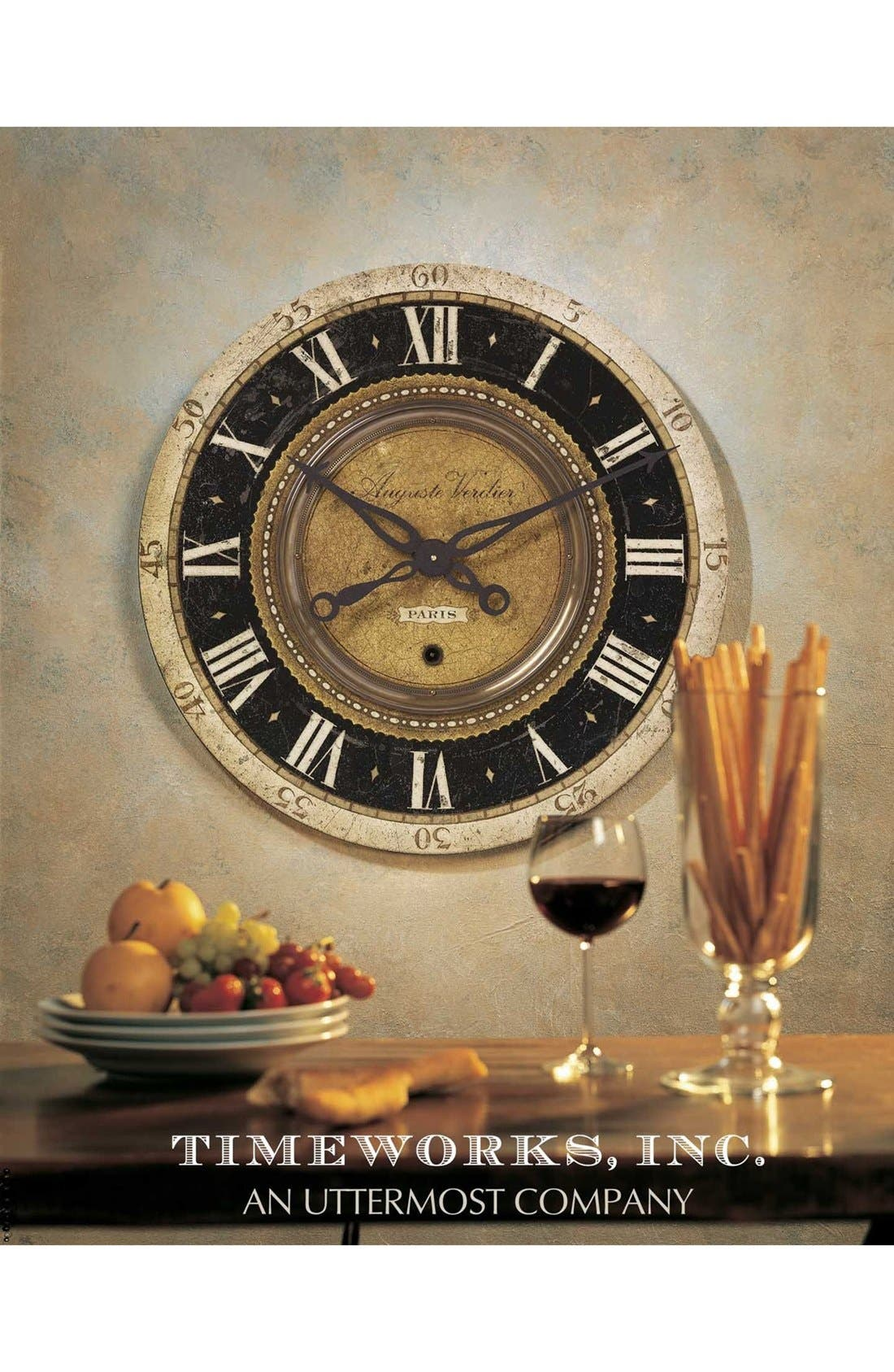 Alternate Image 3  - Uttermost 'Auguste Verdier' Wall Clock