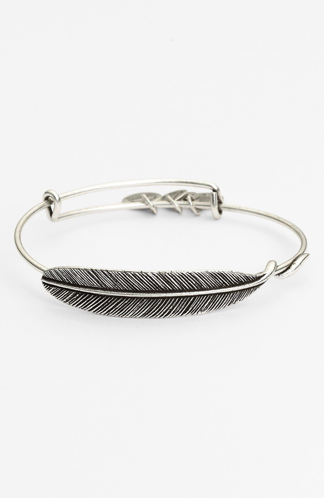 ALEX AND ANI Quill Expandable Wire Bangle
