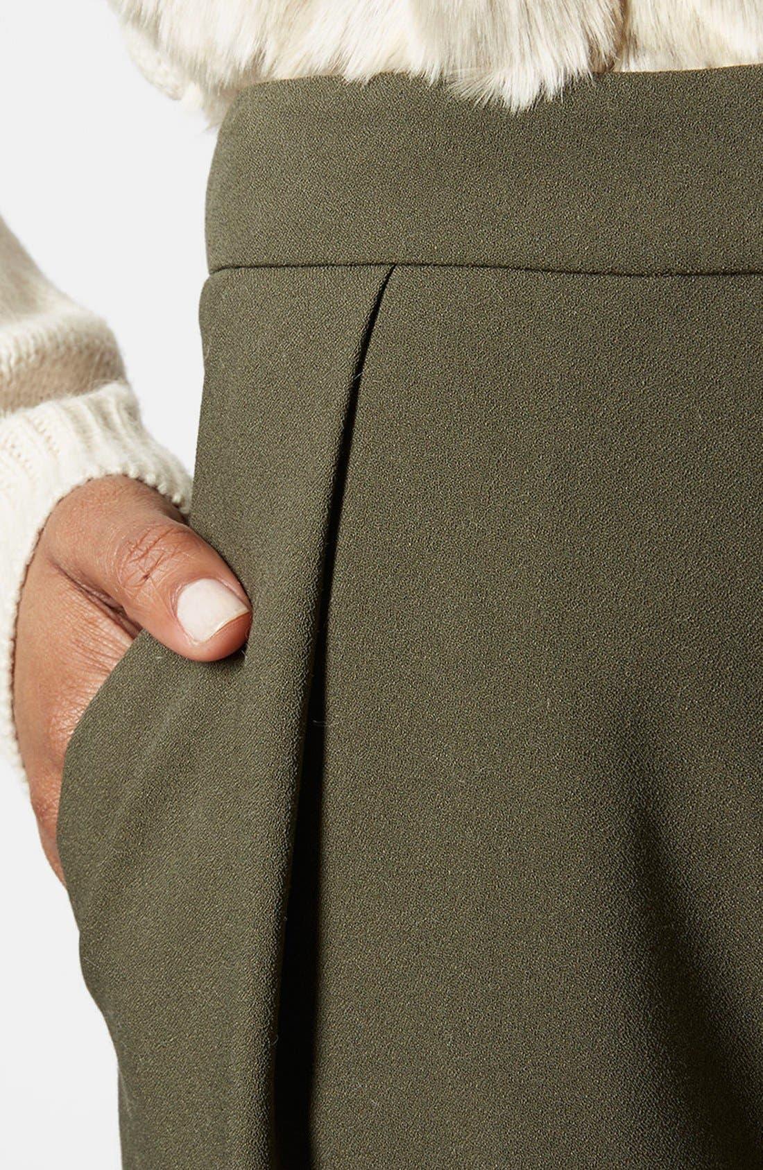Alternate Image 3  - Topshop Straight Leg Crop Pants