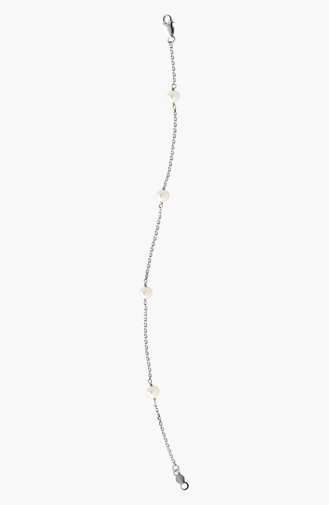 MIGNONETTE 14k White Gold & Cultured Pearl Bracelet