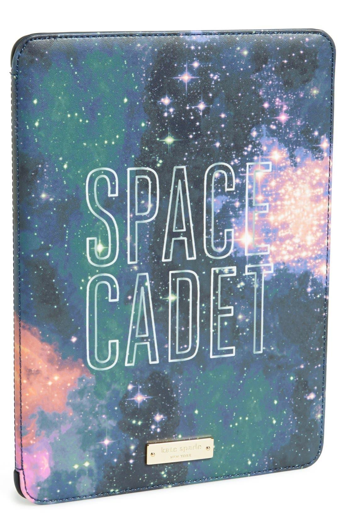 Alternate Image 1 Selected - kate spade new york 'space cadet' print iPad Air hardcase folio