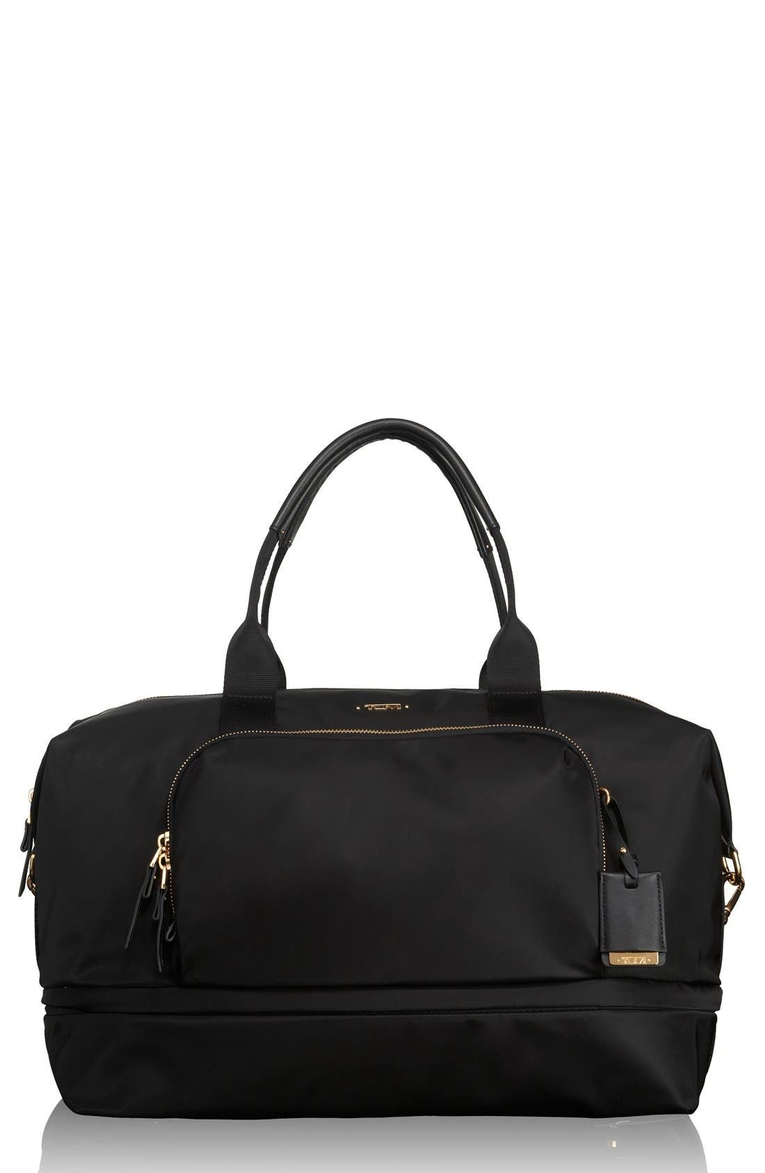 Durban Expandable Duffel Bag,                         Main,                         color, Black