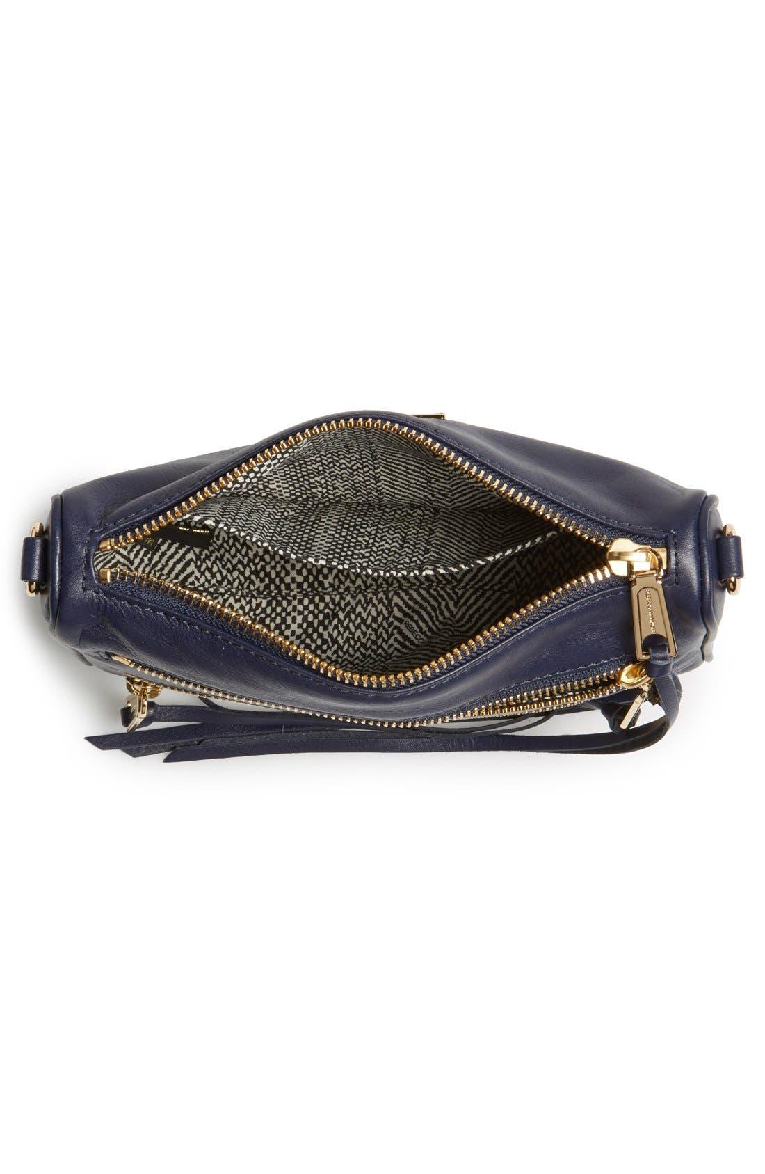 Alternate Image 4  - Rebecca Minkoff 'Mini 5-Zip' Convertible Crossbody Bag