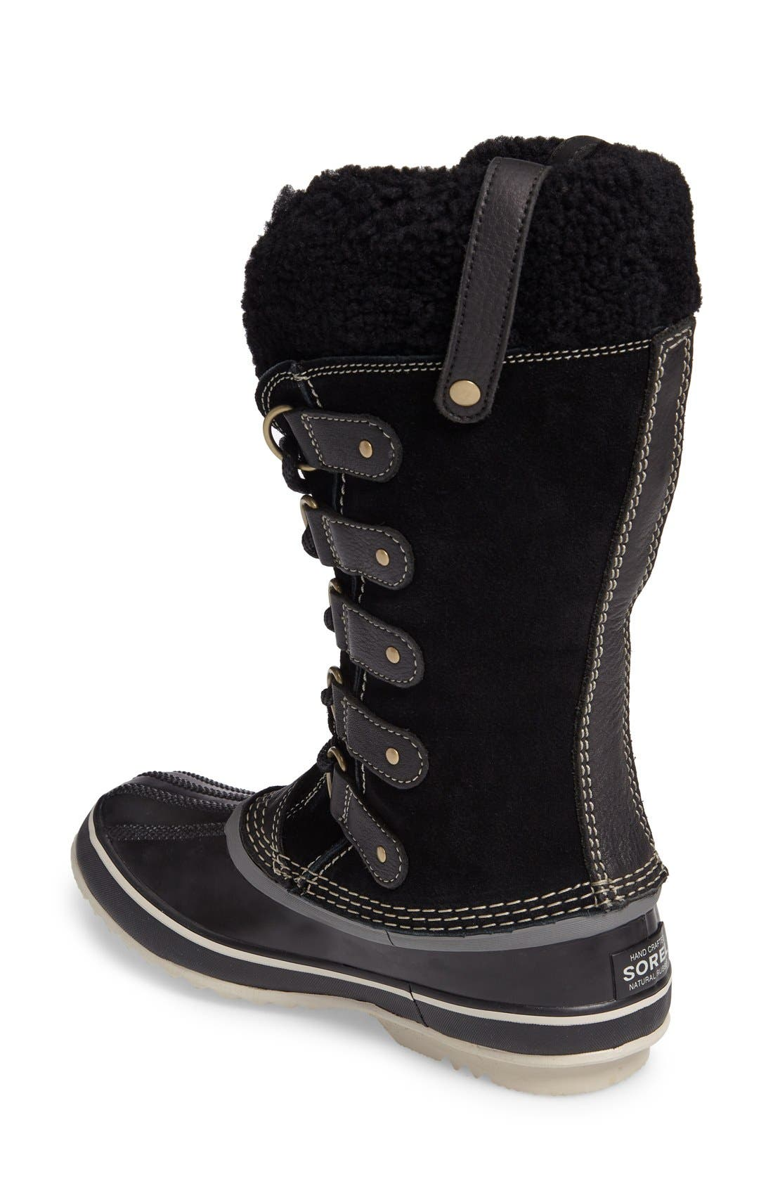 Alternate Image 2  - SOREL Joan of Arctic Genuine Shearling Waterproof Boot (Women)
