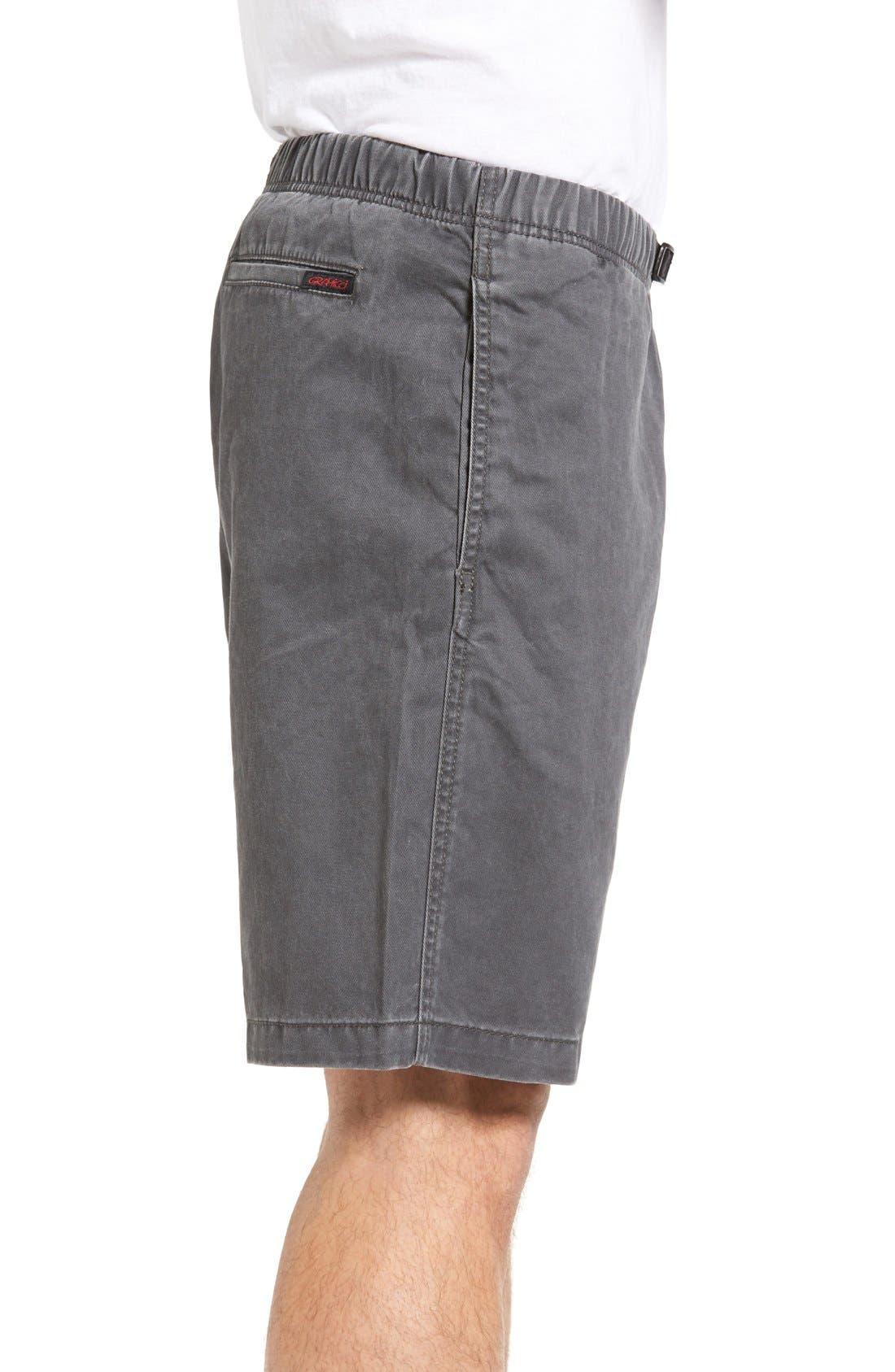 Rockin Sport Shorts,                             Alternate thumbnail 3, color,                             Asphalt Grey