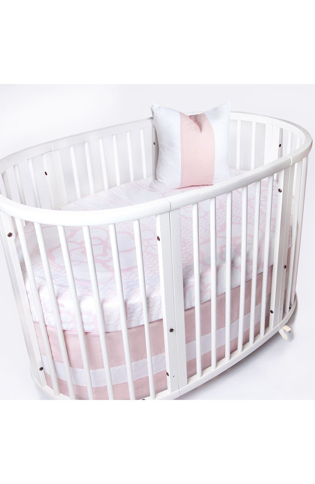 Alternate Image 1 Selected - Oilo Woven Band Crib Skirt for Stokke Sleepi Crib