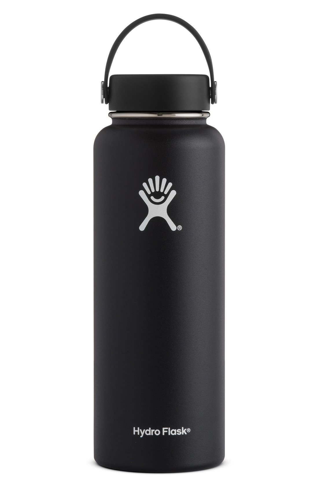 Hydro Flask 40-Ounce Wide Mouth Cap Bottle