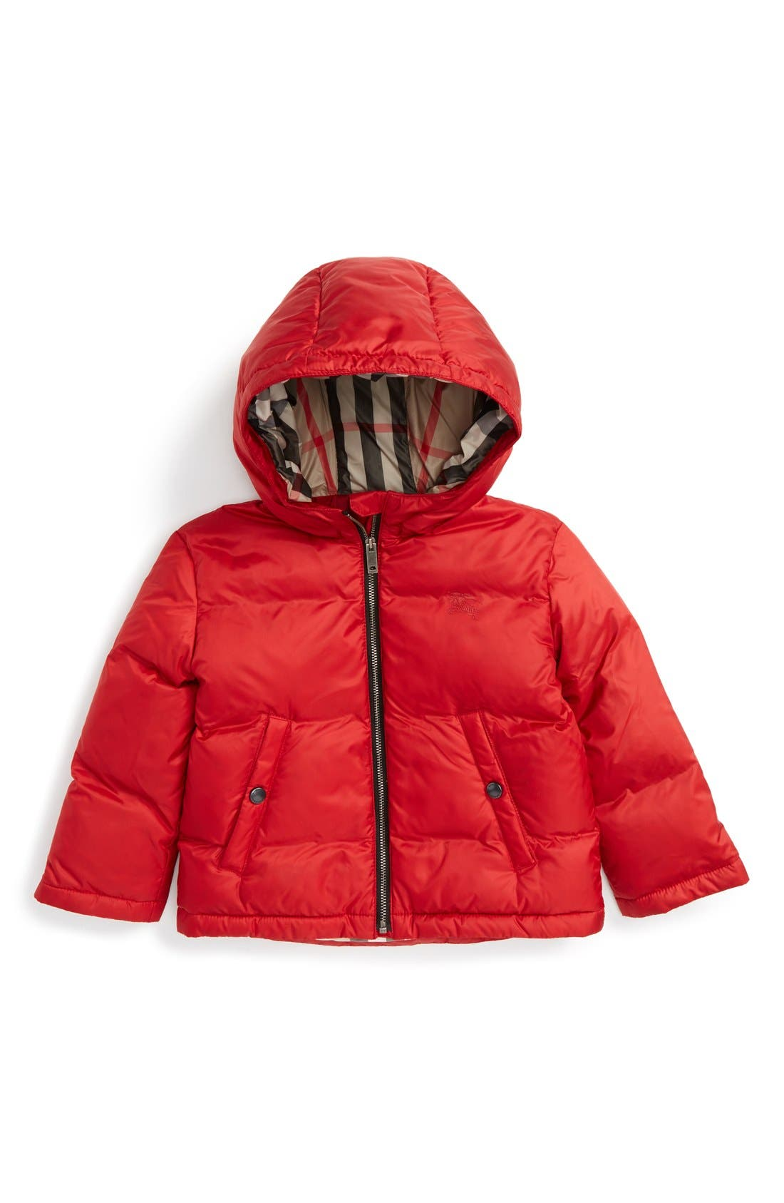 Burberry Rio Down Filled Puffer Jacket (Toddler Girls)