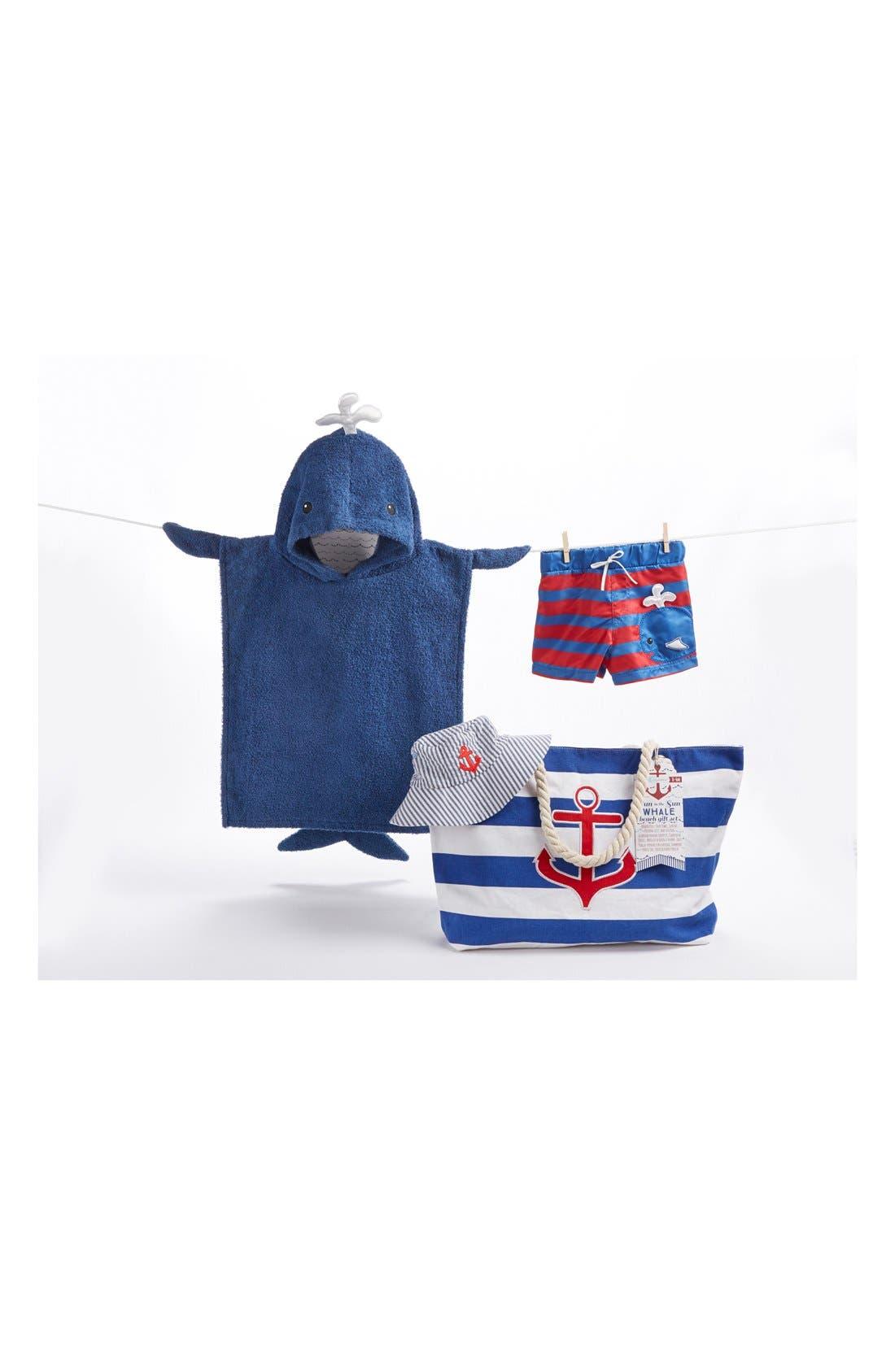 Alternate Image 1 Selected - Baby Aspen Nautical 4-Piece Gift Set (Baby)